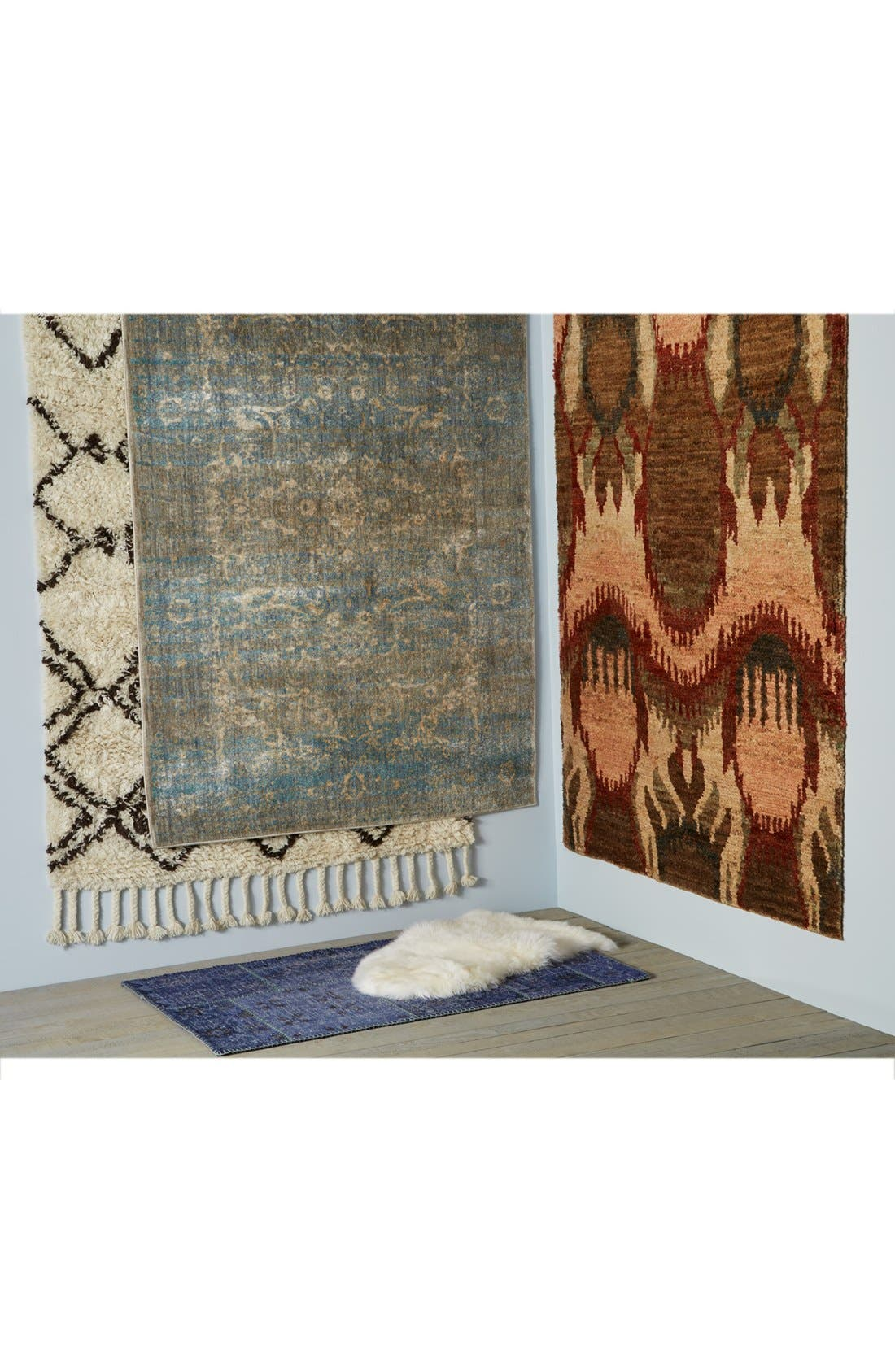 'Sherpa' Wool Rug,                             Alternate thumbnail 8, color,