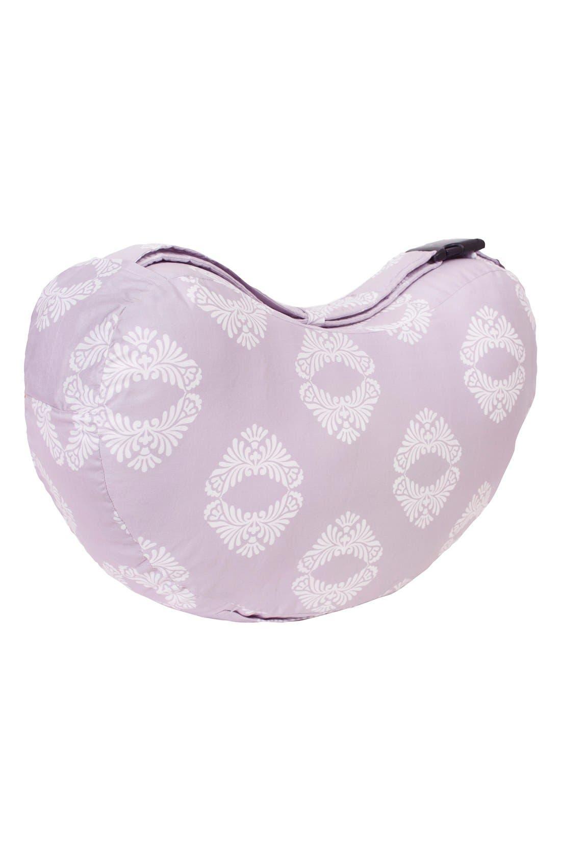 Nursing Pillow,                             Alternate thumbnail 2, color,                             Light Purple/ White