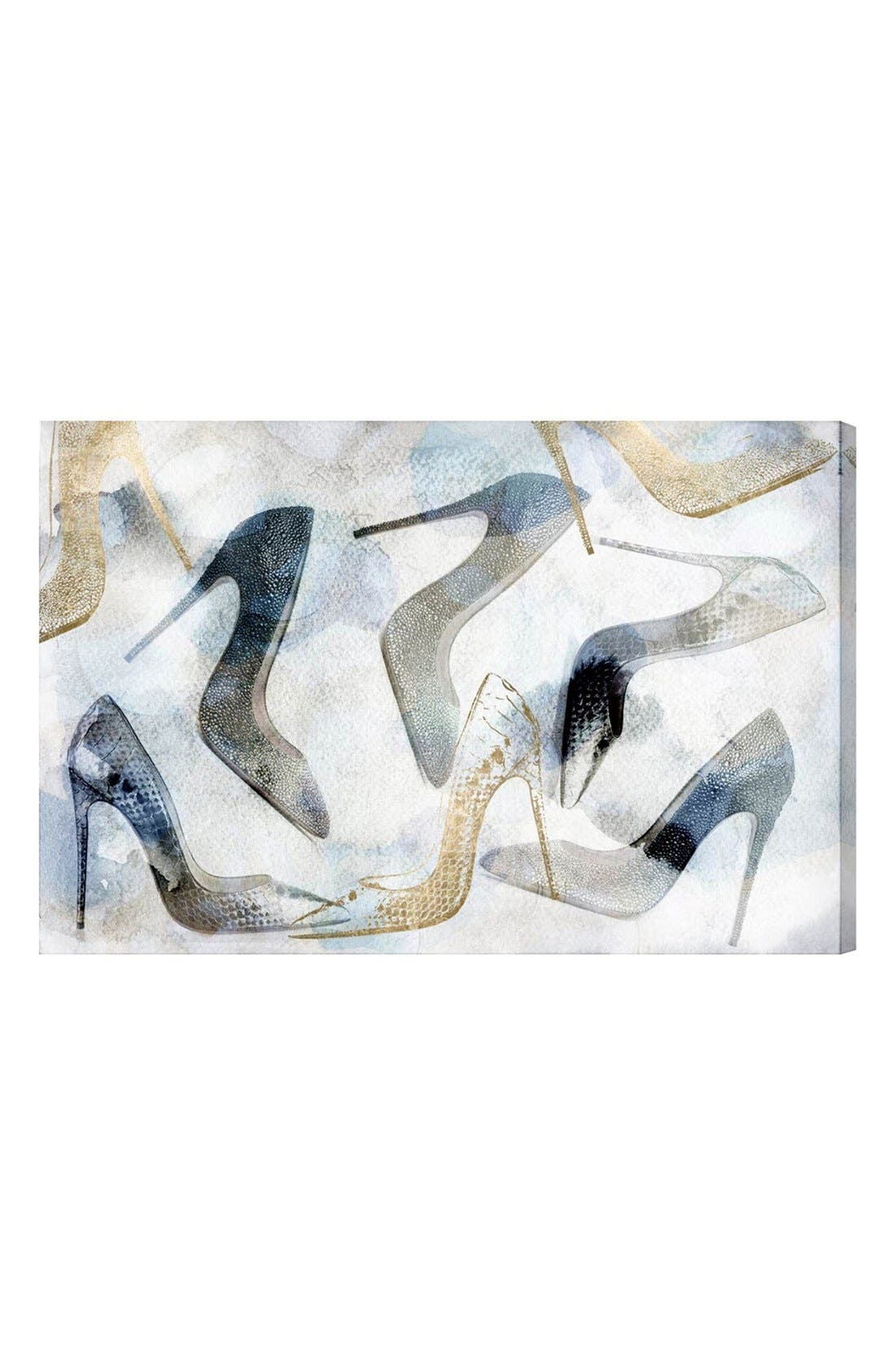 'Bianca' Canvas Wall Art,                         Main,                         color, Ivory