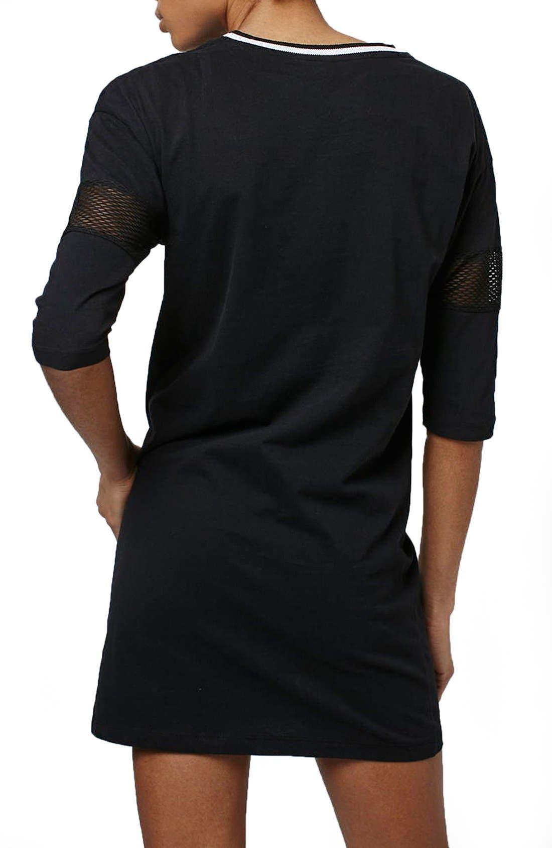 Alternate Image 3  - Topshop 'Stockholm' T-Shirt Dress