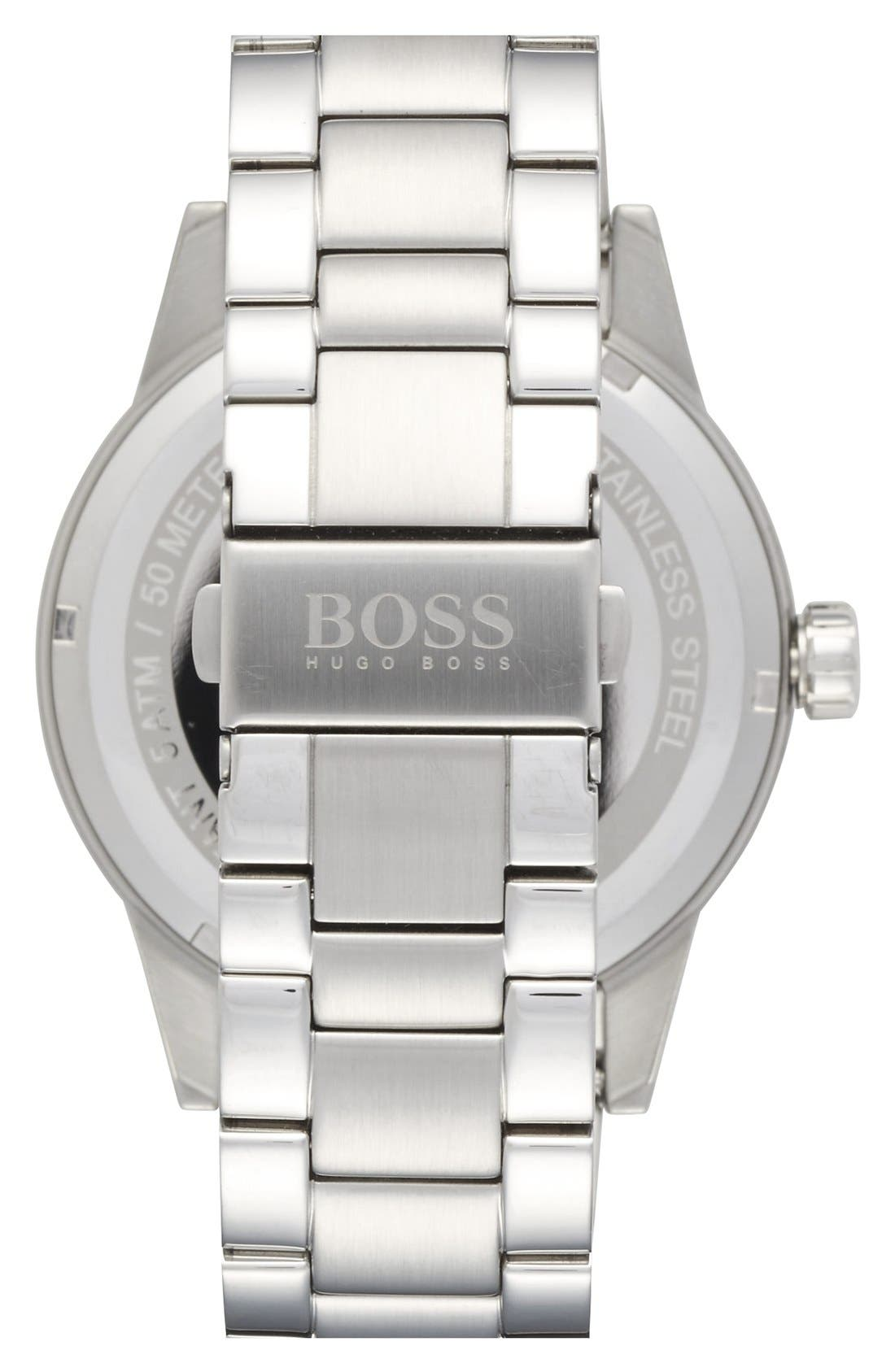 Alternate Image 2  - BOSS 'Pilot' Bracelet Watch, 44mm