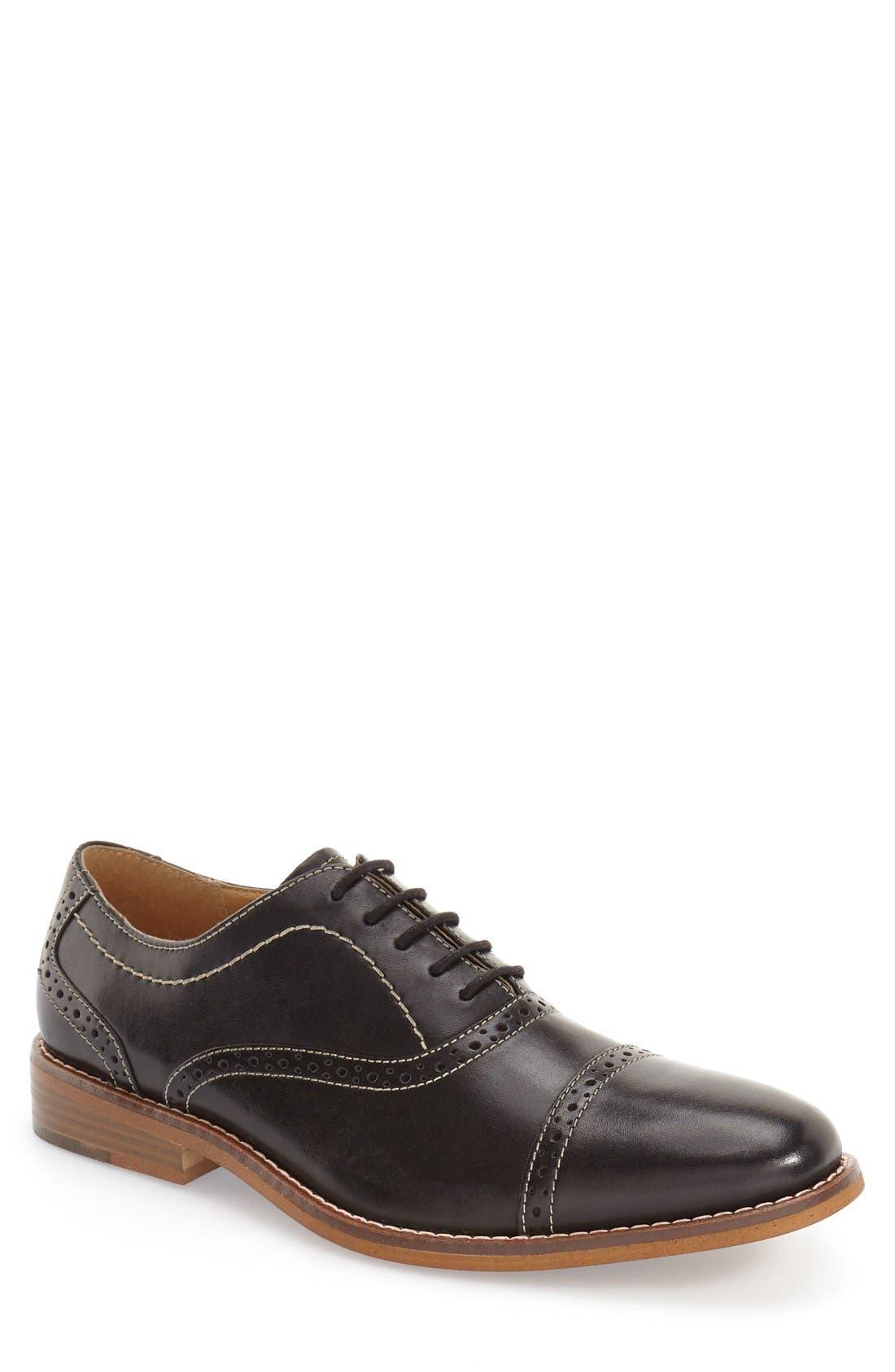 Alternate Image 1 Selected - G.H. Bass & Co. 'Carnell' Cap Toe Oxford (Men)