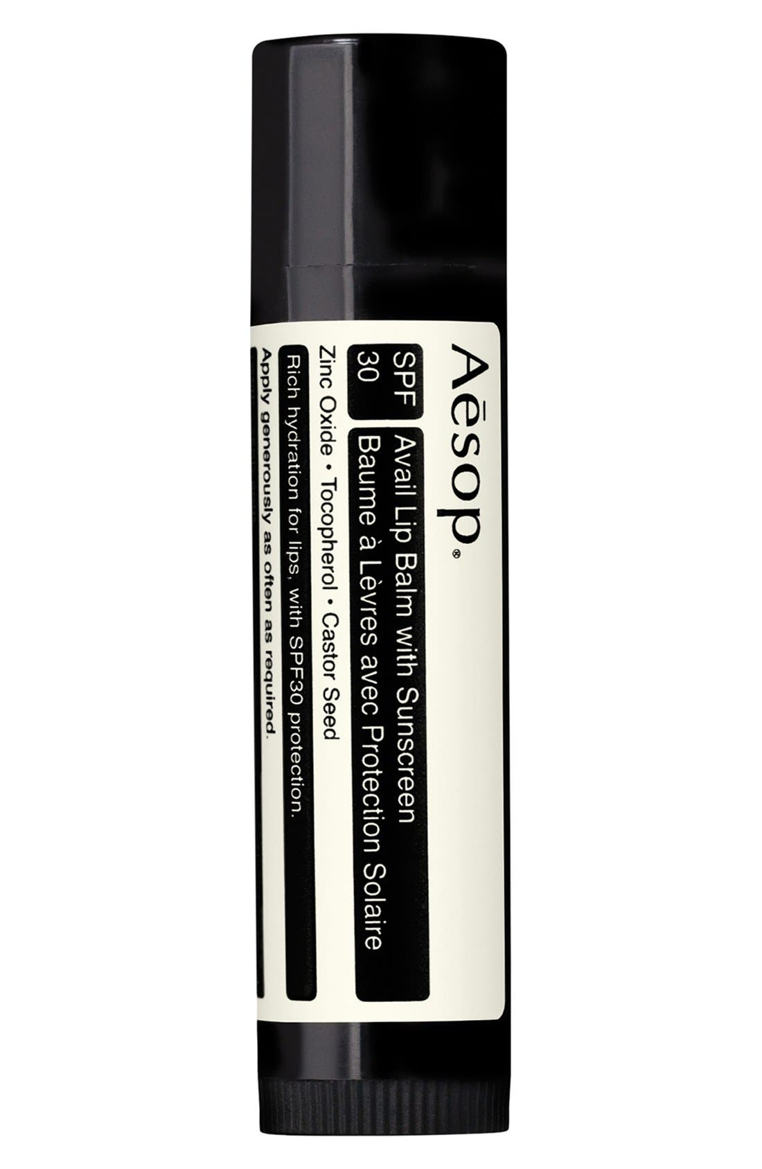 Aesop Avail Lip Balm with Sunscreen