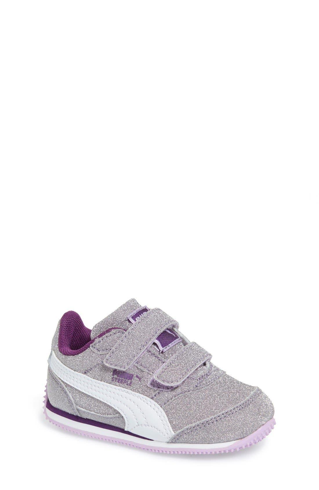 Alternate Image 1 Selected - PUMA 'Steeple Glitz' Sneaker (Baby, Walker, Toddler, Little Kid & Big Kid)