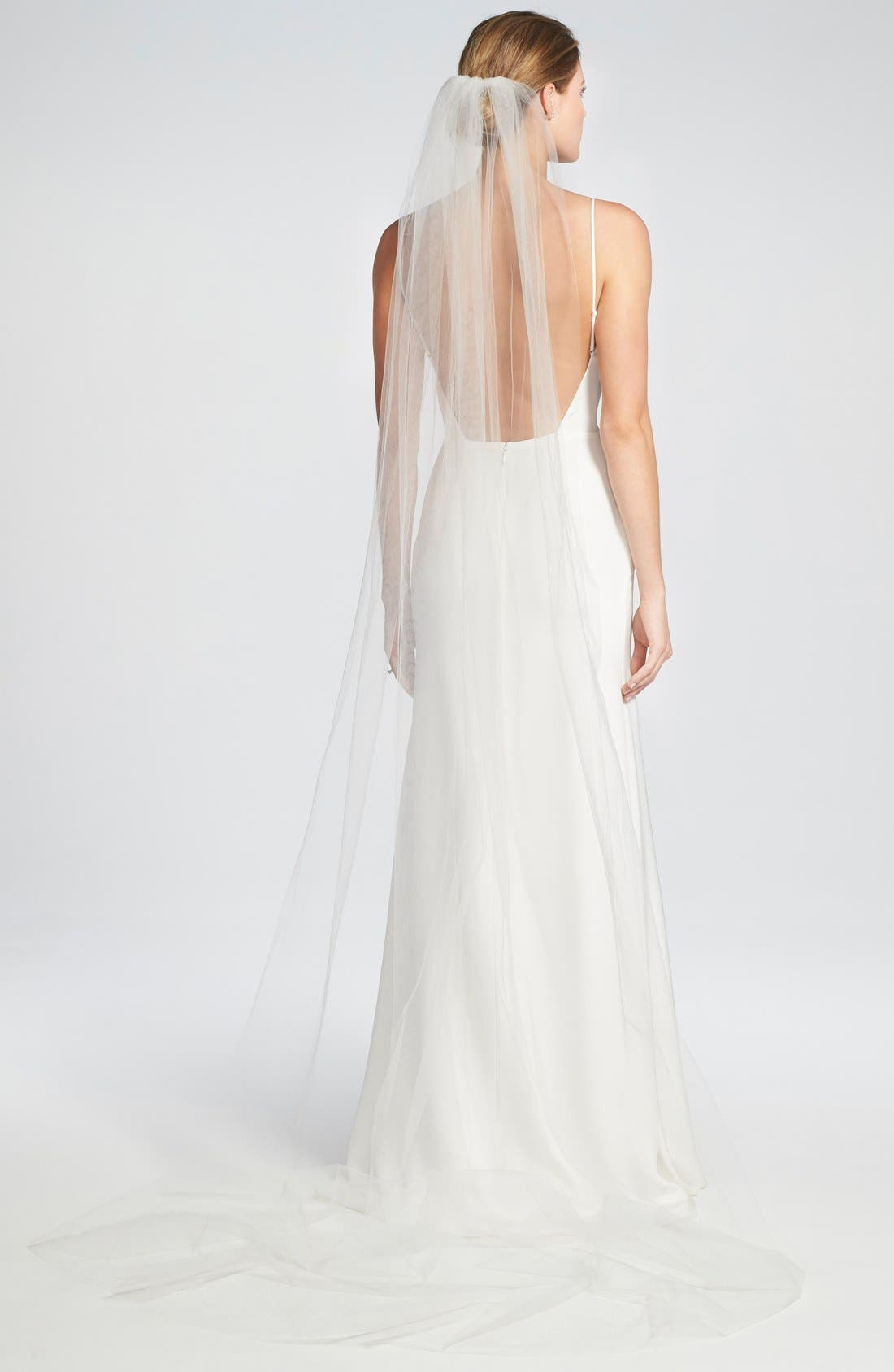 Alternate Image 4  - Brides & Hairpins 'Christina' Tulle Veil