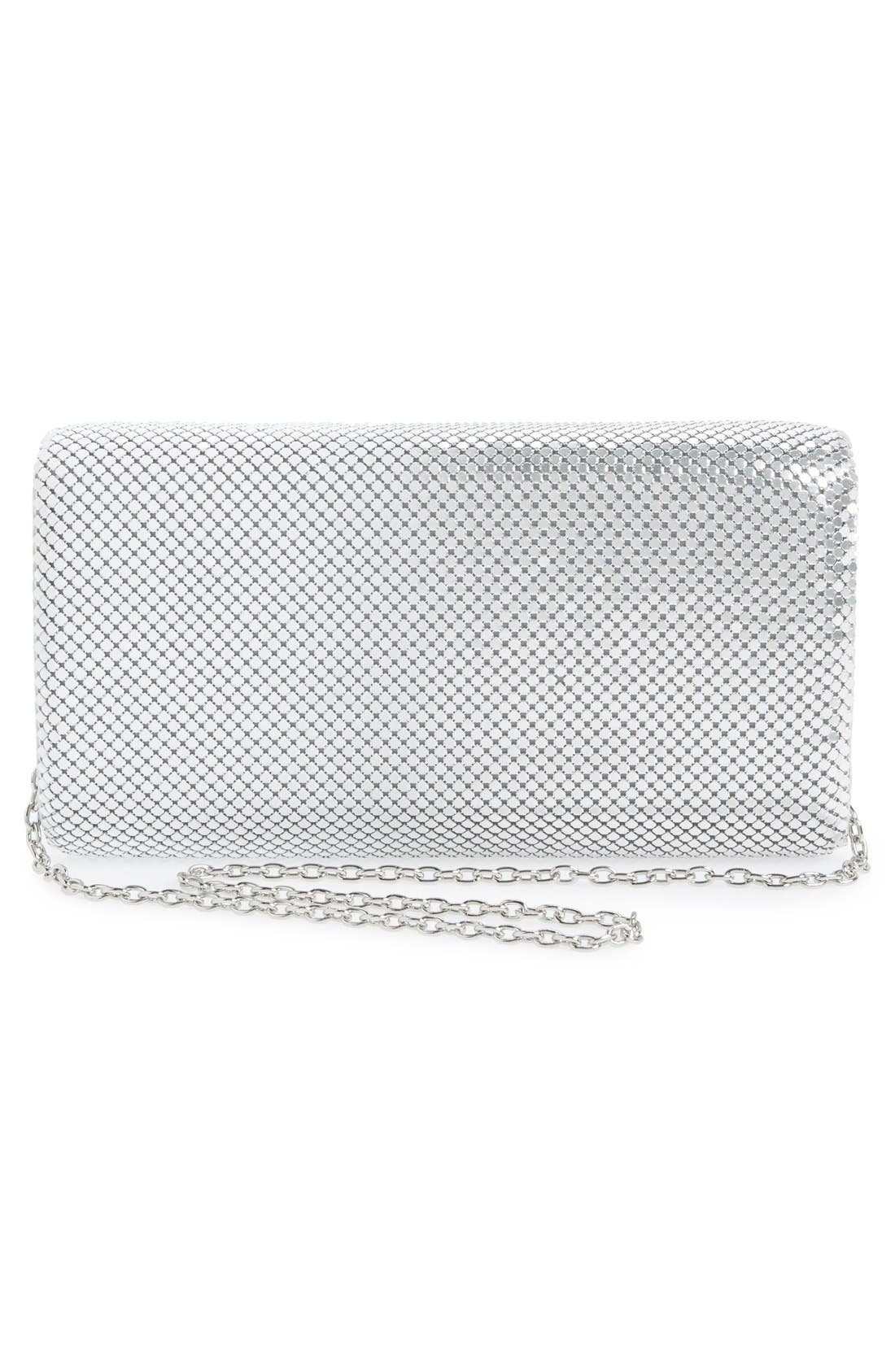 Alternate Image 3  - Jessica McClintock Ombré Mesh Clutch