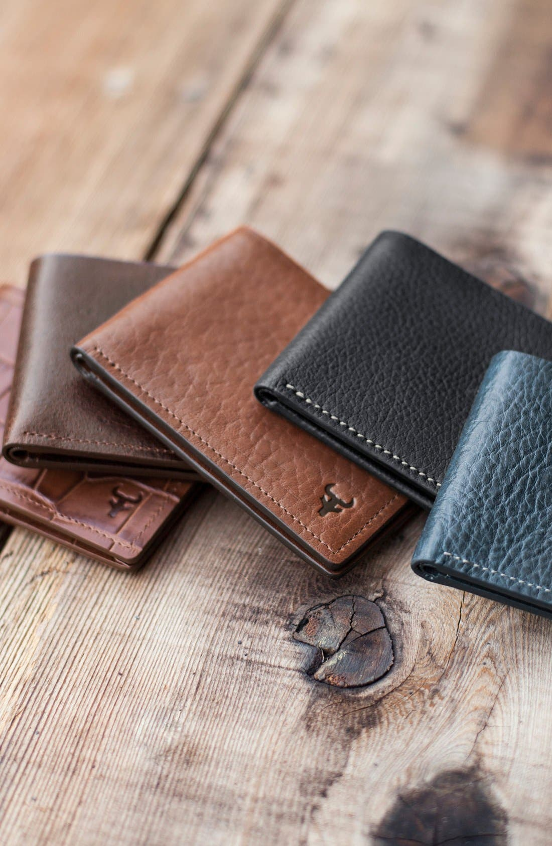 Alternate Image 3  - Trask 'Jackson' Super Slim Leather Wallet
