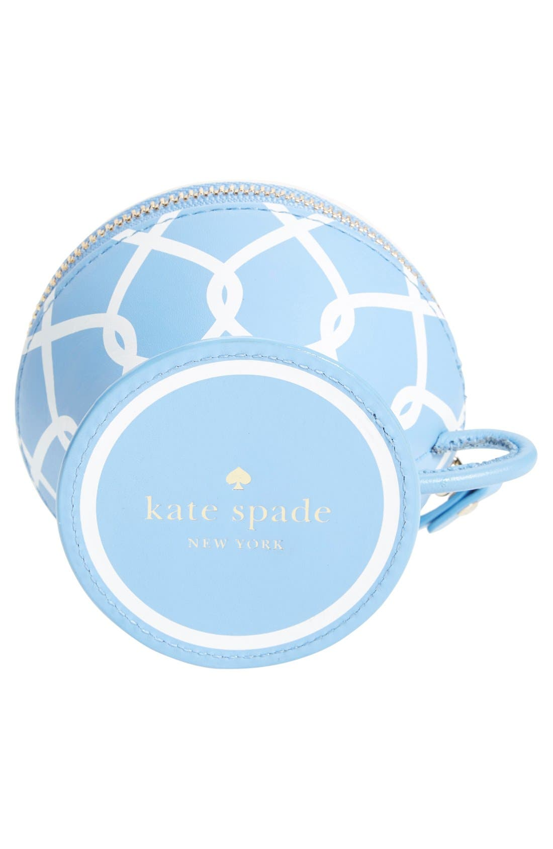 Alternate Image 6  - kate spade new york 'tea cup' leather coin purse