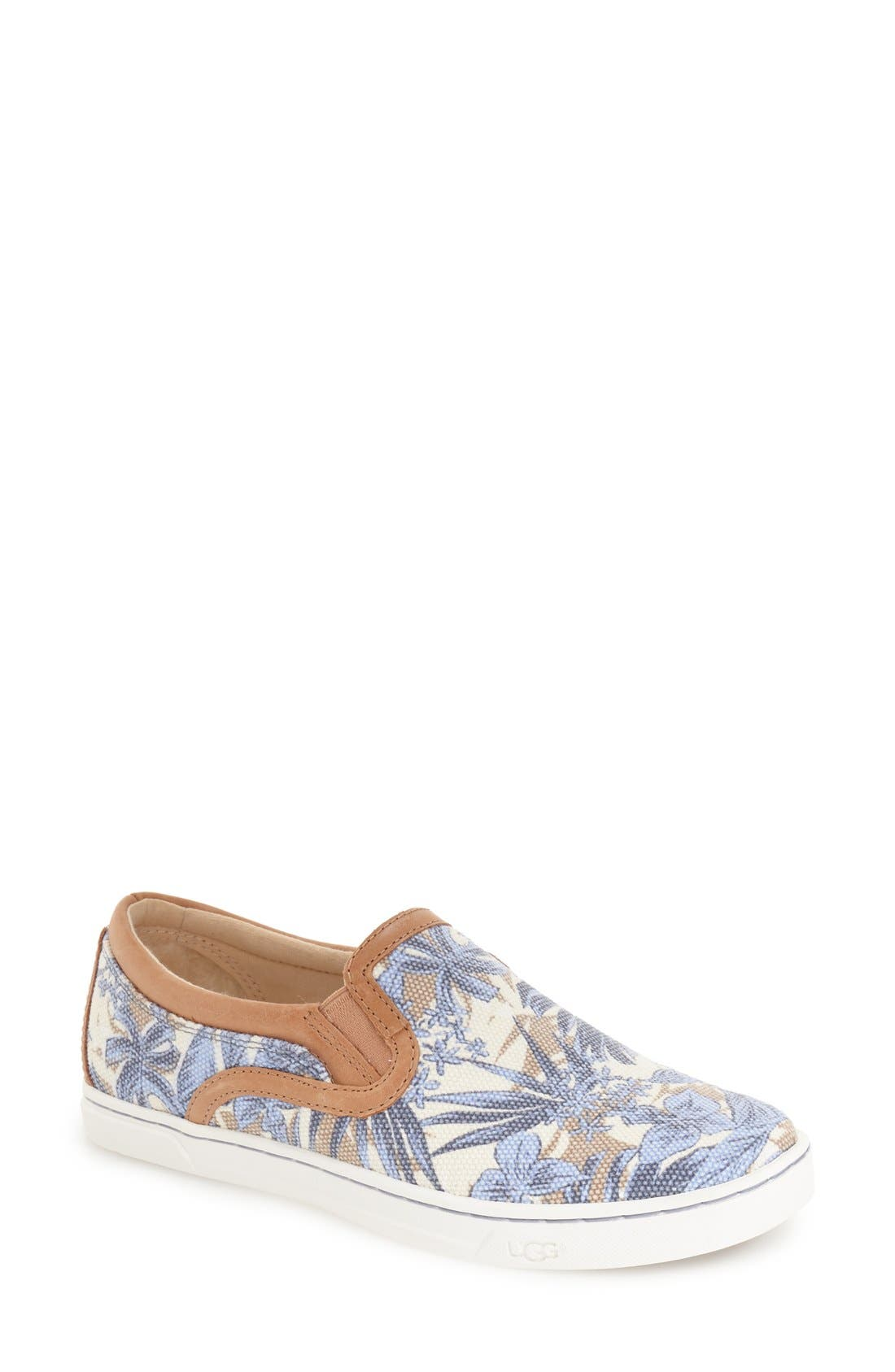 Main Image - UGG® 'Fierce - Island Floral' Slip-On Sneaker (Women)
