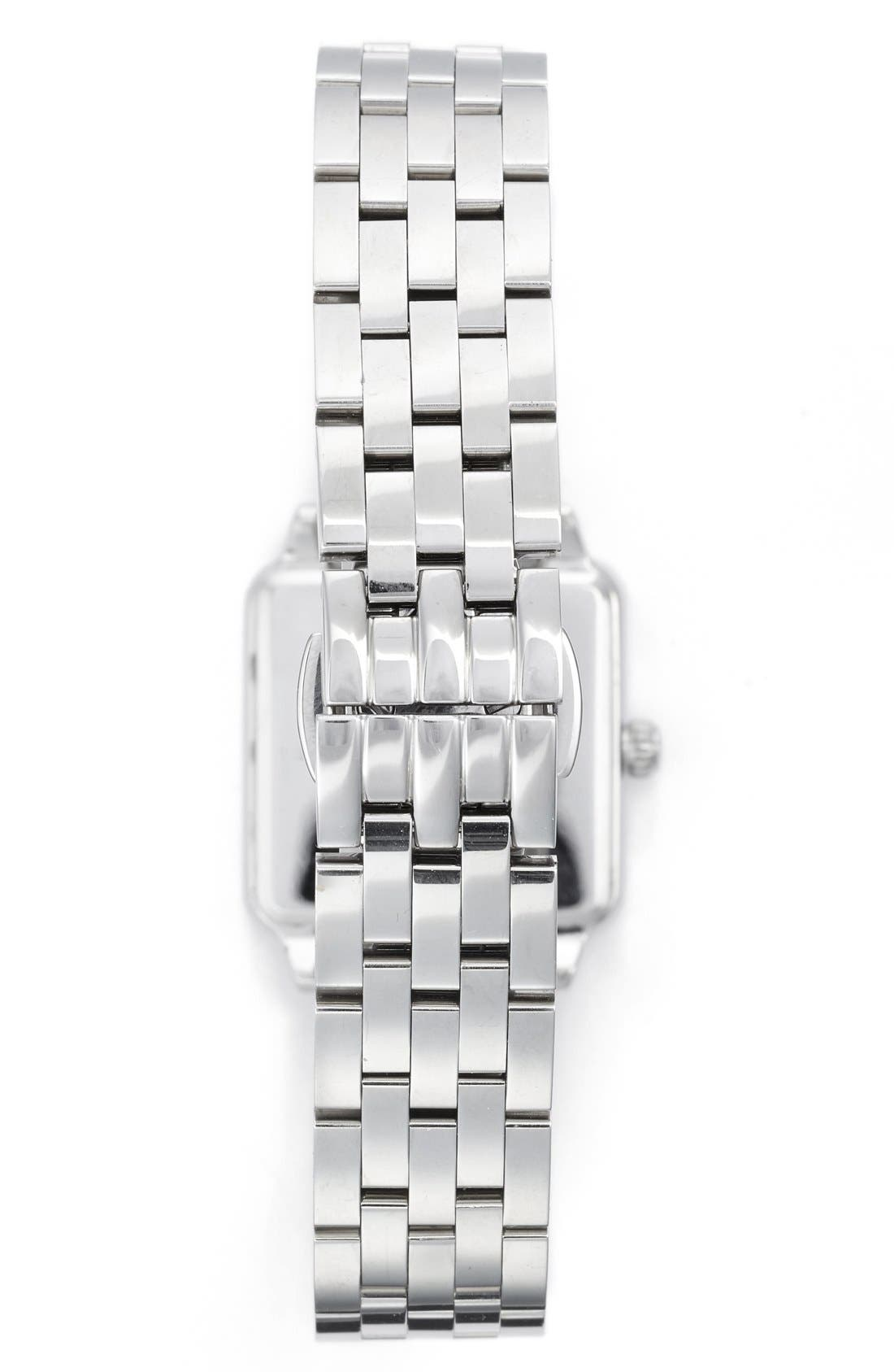 washington square bracelet watch, 25mm,                             Alternate thumbnail 2, color,                             Silver/ Mother Of Pearl