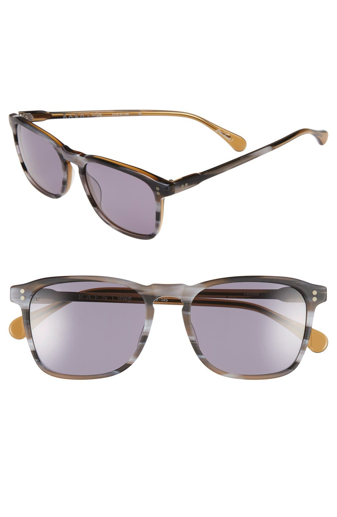 'Wiley' 54mm Sunglasses,                         Main,                         color, Cinder