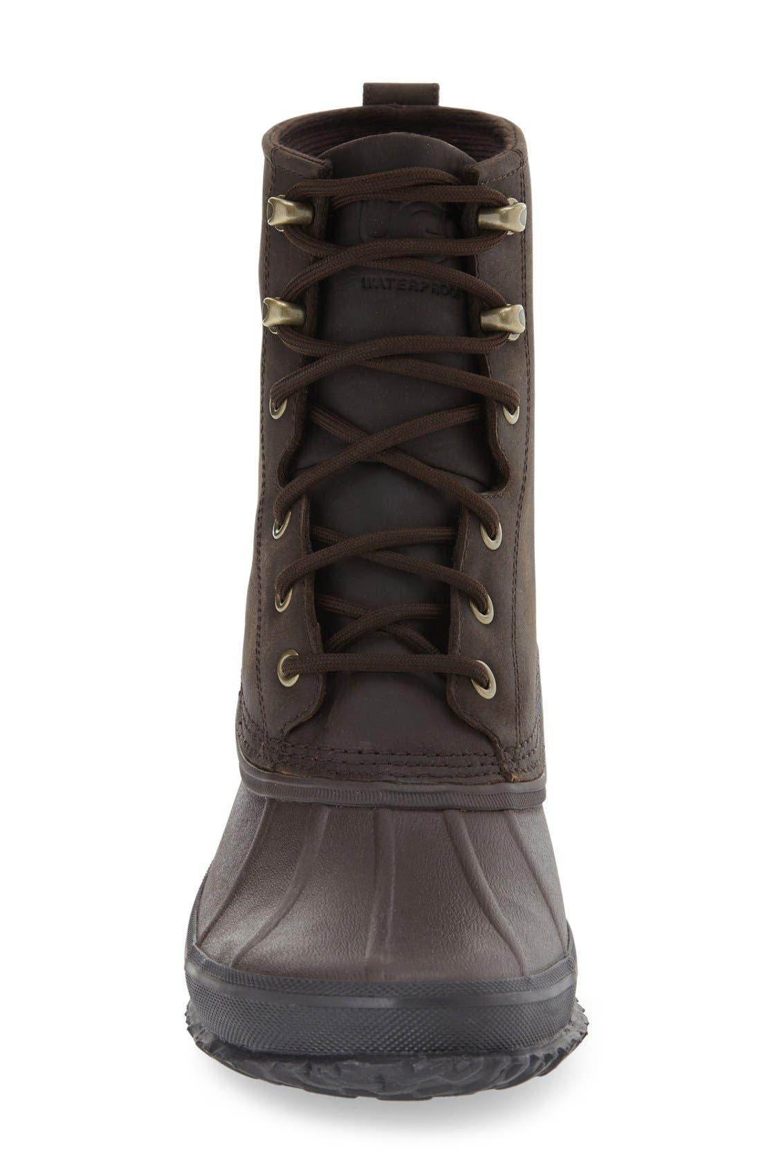 Yucca Rain Boot,                             Alternate thumbnail 3, color,                             Stout