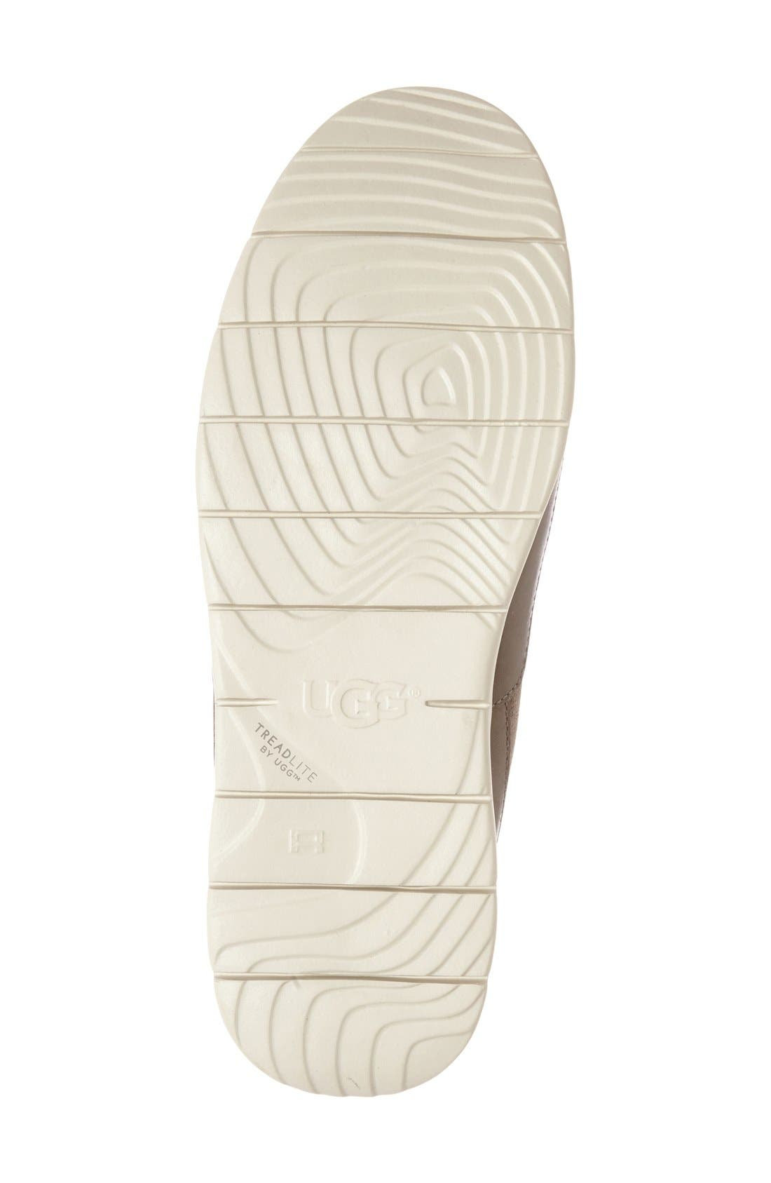 Alternate Image 4  - UGG® Fascot Driving Shoe (Men)