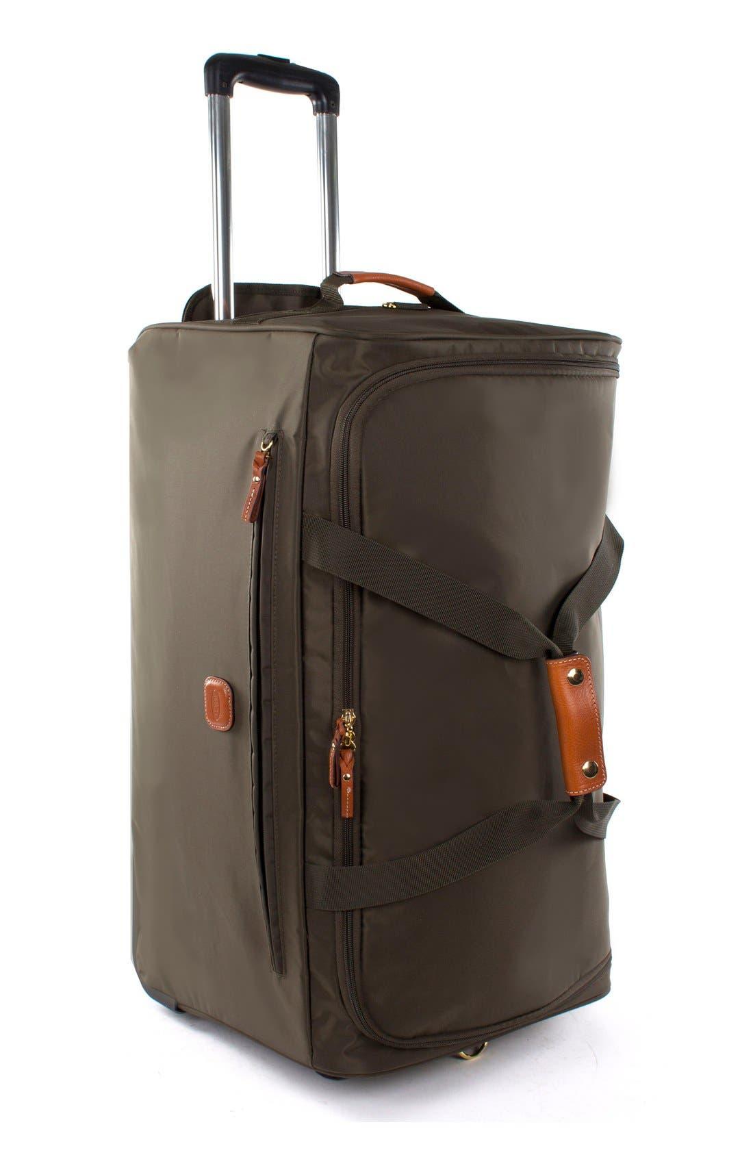 X-Bag 28-Inch Rolling Duffel Bag,                             Alternate thumbnail 2, color,                             Olive