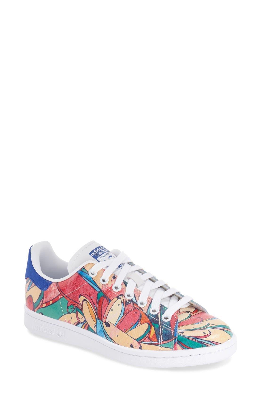 Alternate Image 1 Selected - adidas x The FARM Company 'Stan Smith' Sneaker (Women)