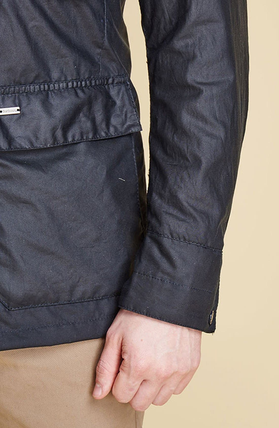 Alternate Image 7  - Barbour 'Sapper' Tailored Fit Weatherproof Waxed Jacket
