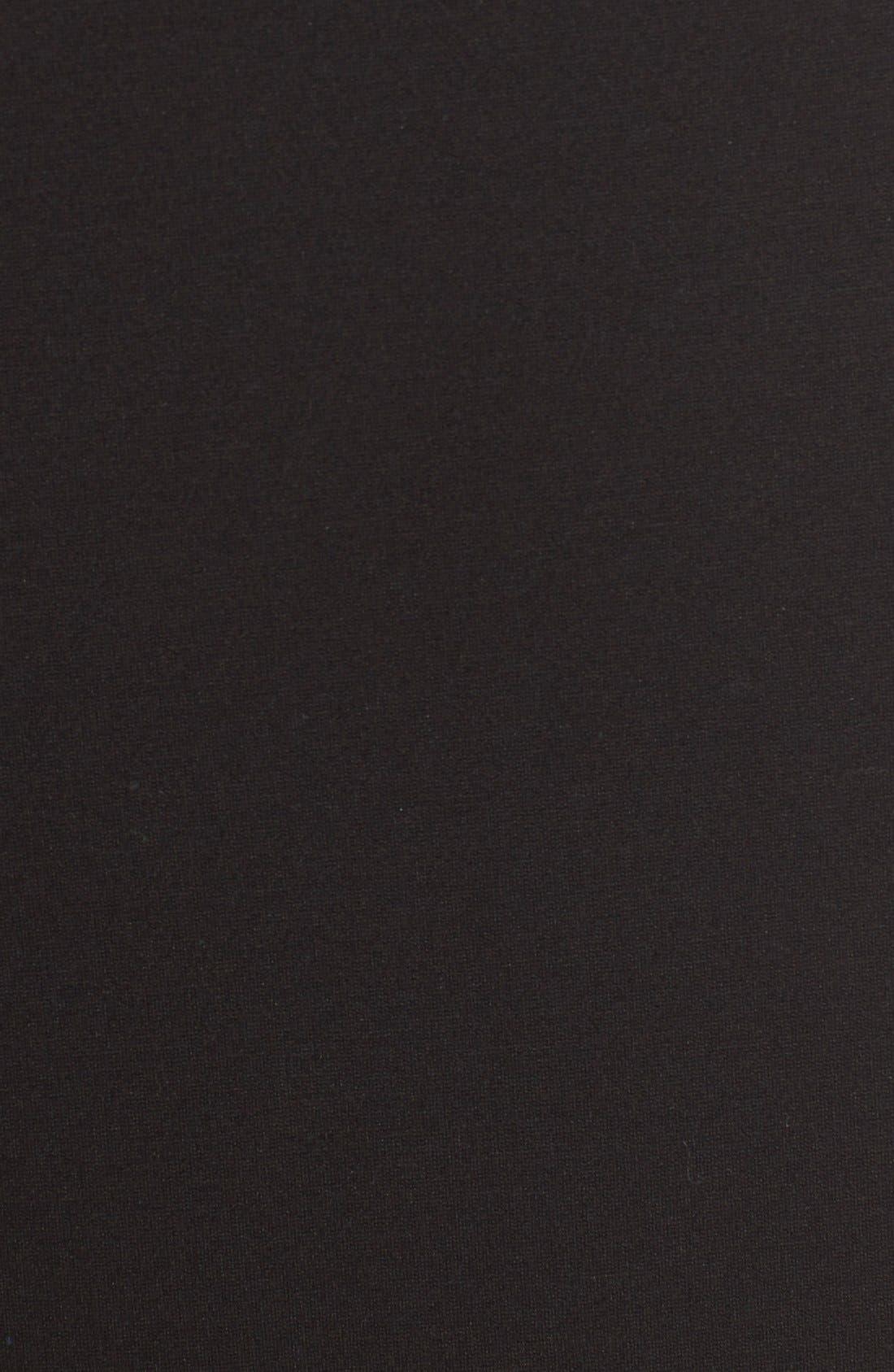 Alternate Image 5  - Classiques Entier® Sleeveless Italian Ponte V-Neck Sheath Dress (Regular & Petite)