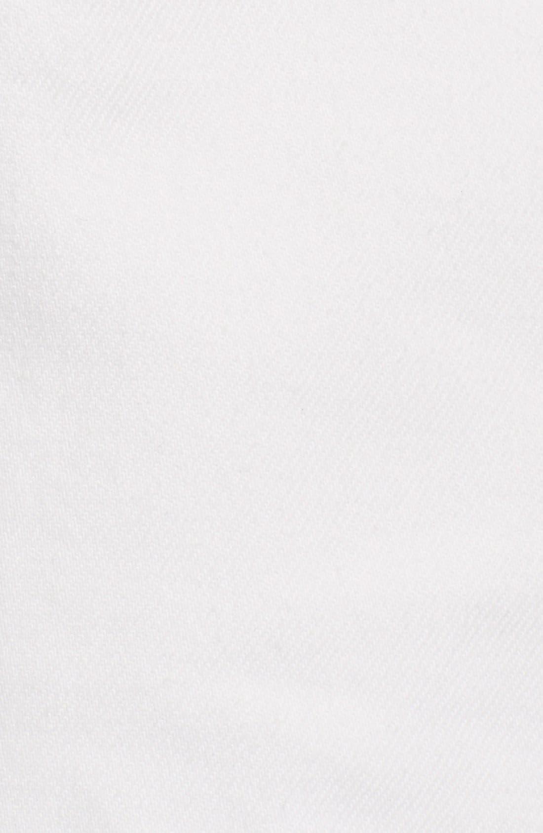 Alternate Image 5  - rag & bone/JEAN 'Carpenter' Cuffed Denim Shorts (Aged Bright White)