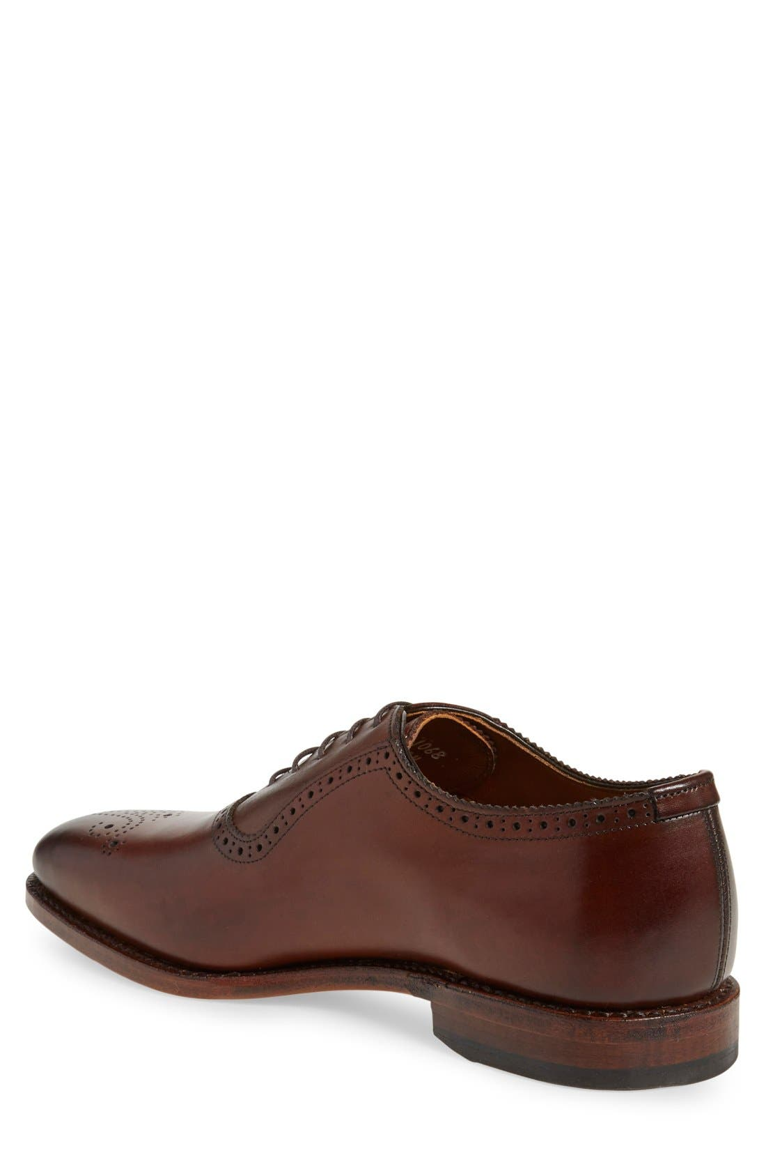 Alternate Image 2  - Allen Edmonds 'Cornwallis' Medallion Toe Oxford (Men)
