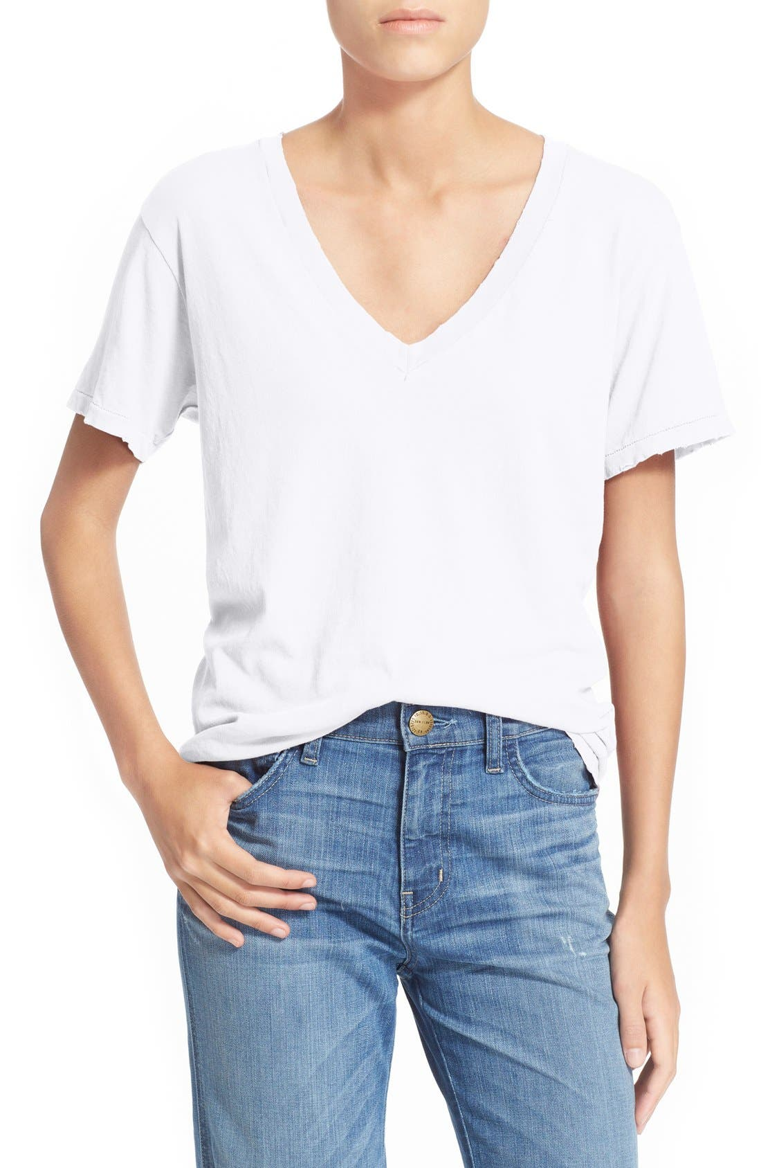 The Roadie Top in Cream. - size 0 / XS (also in 1 / S,2 / M,3 / L) Current Elliott