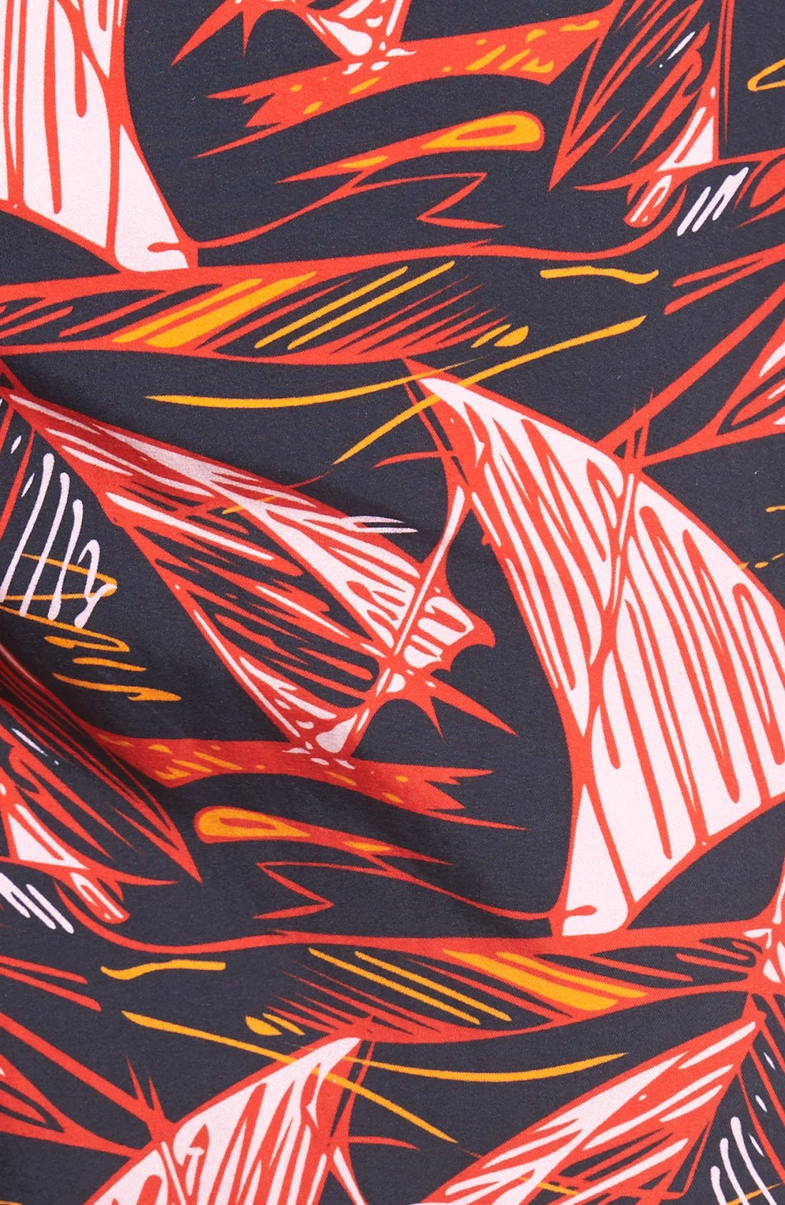 Alternate Image 5  - Vilebrequin 'Moorea' Print Swim Trunks