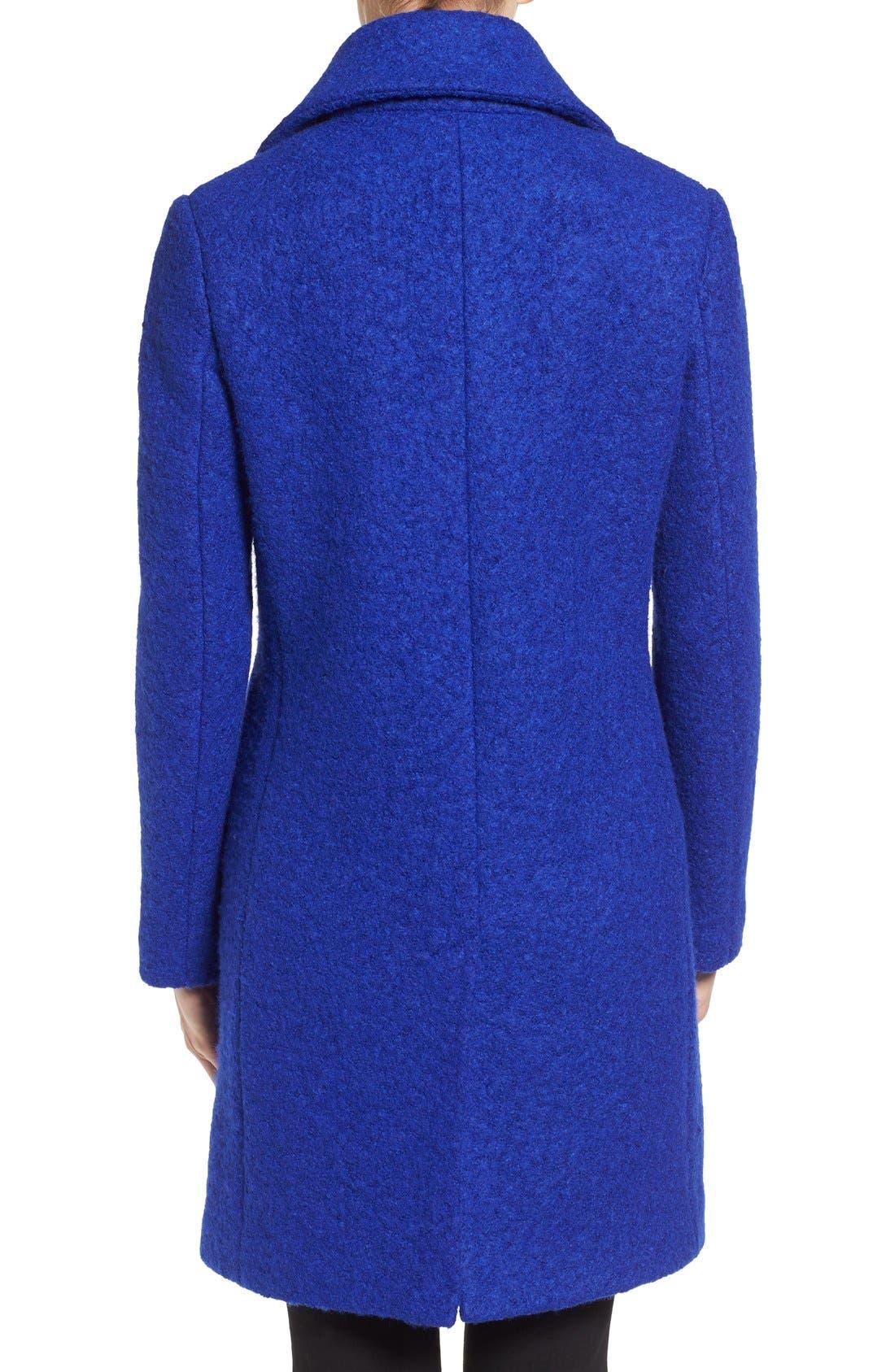 Alternate Image 2  - Tahari 'Tessa' Boiled Wool Blend Coat