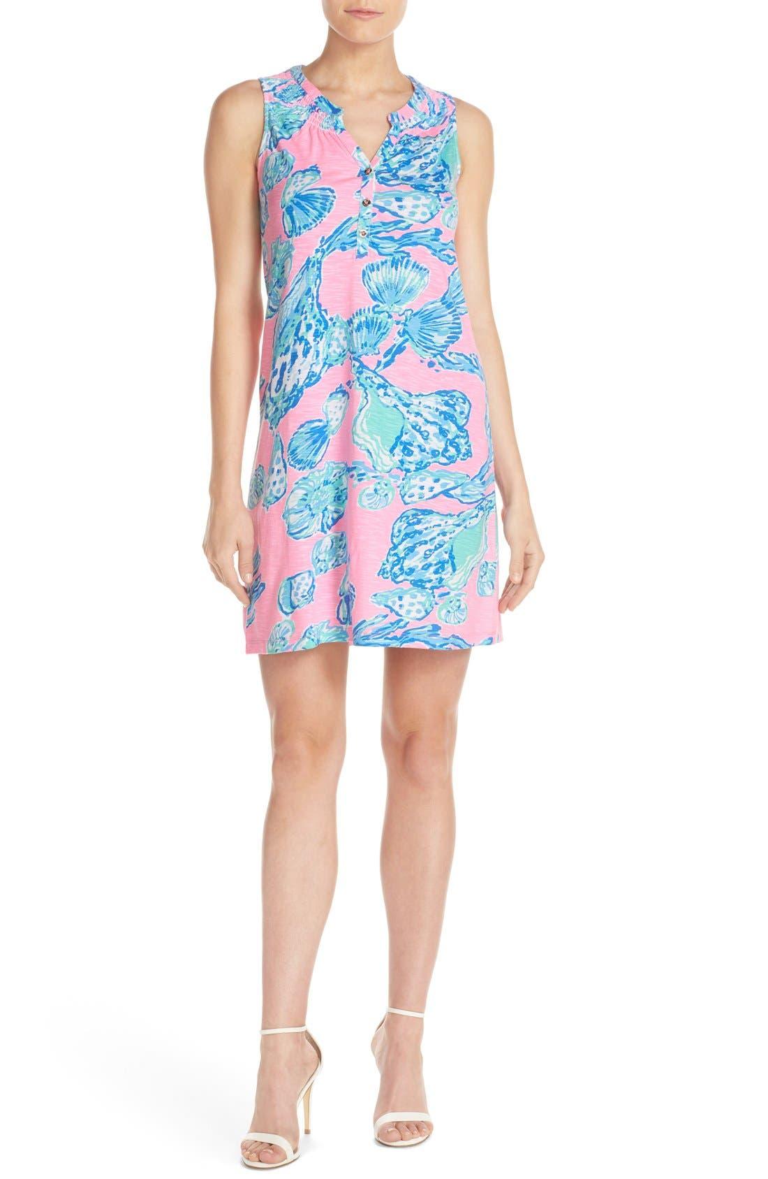 Alternate Image 4  - Lilly Pulitzer® 'Essie' Print Cotton & Modal A-Line Dress