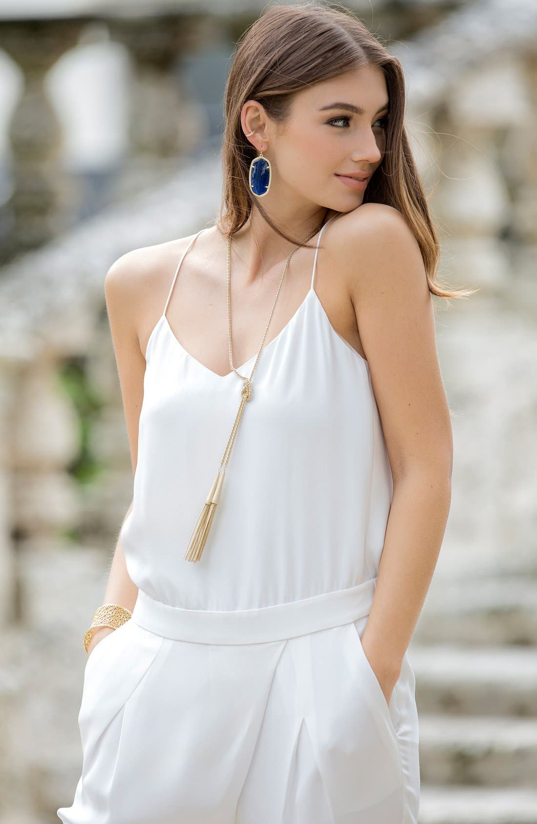 Alternate Image 4  - Kendra Scott 'Phara' Tassel Lariat Necklace