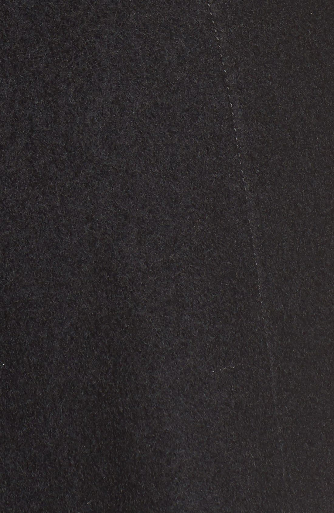 Alternate Image 5  - GUESS Envelope Collar Double Breasted Coat (Regular & Petite)