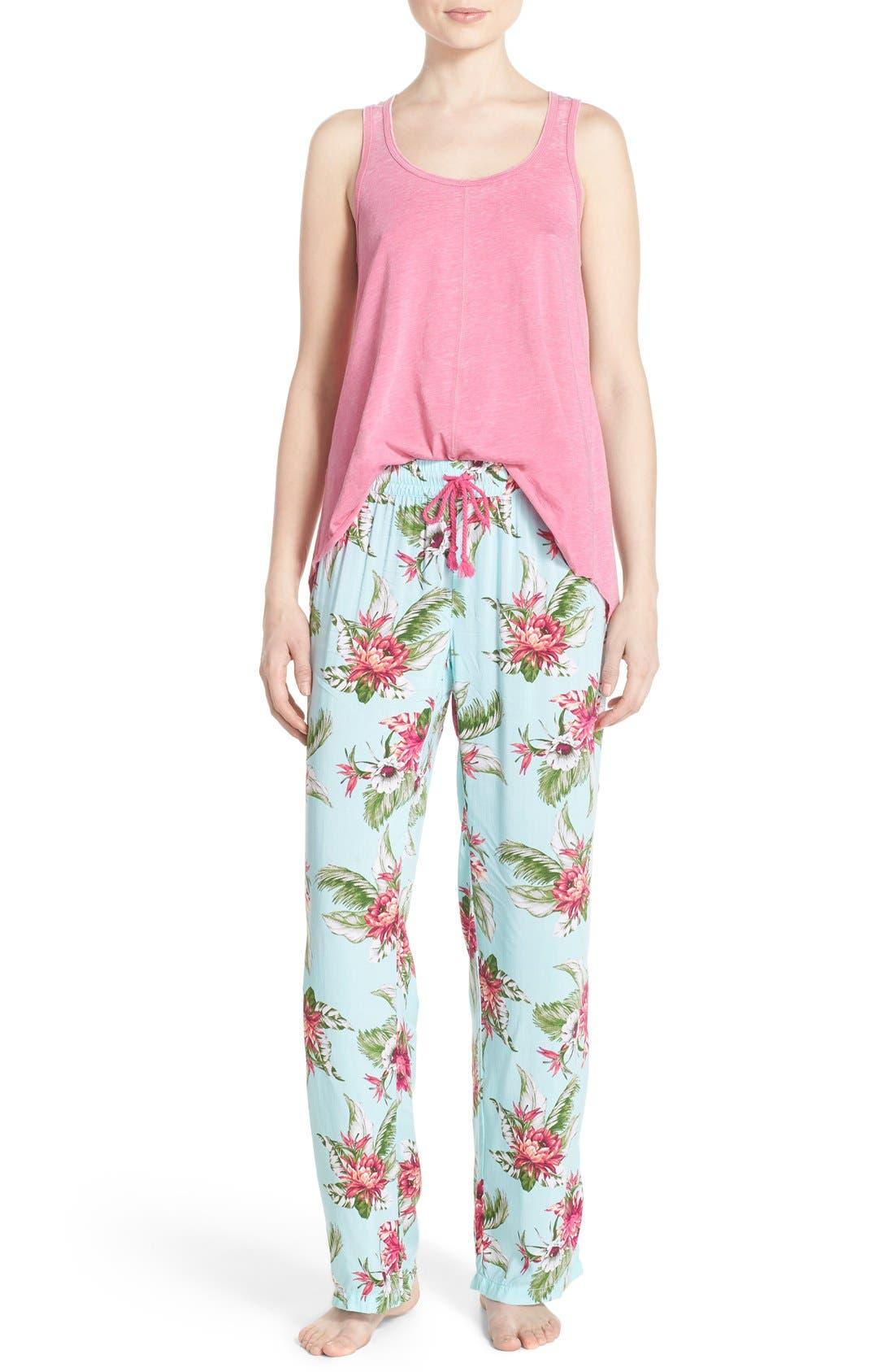 Alternate Image 6  - PJ Salvage Print Pajama Pants