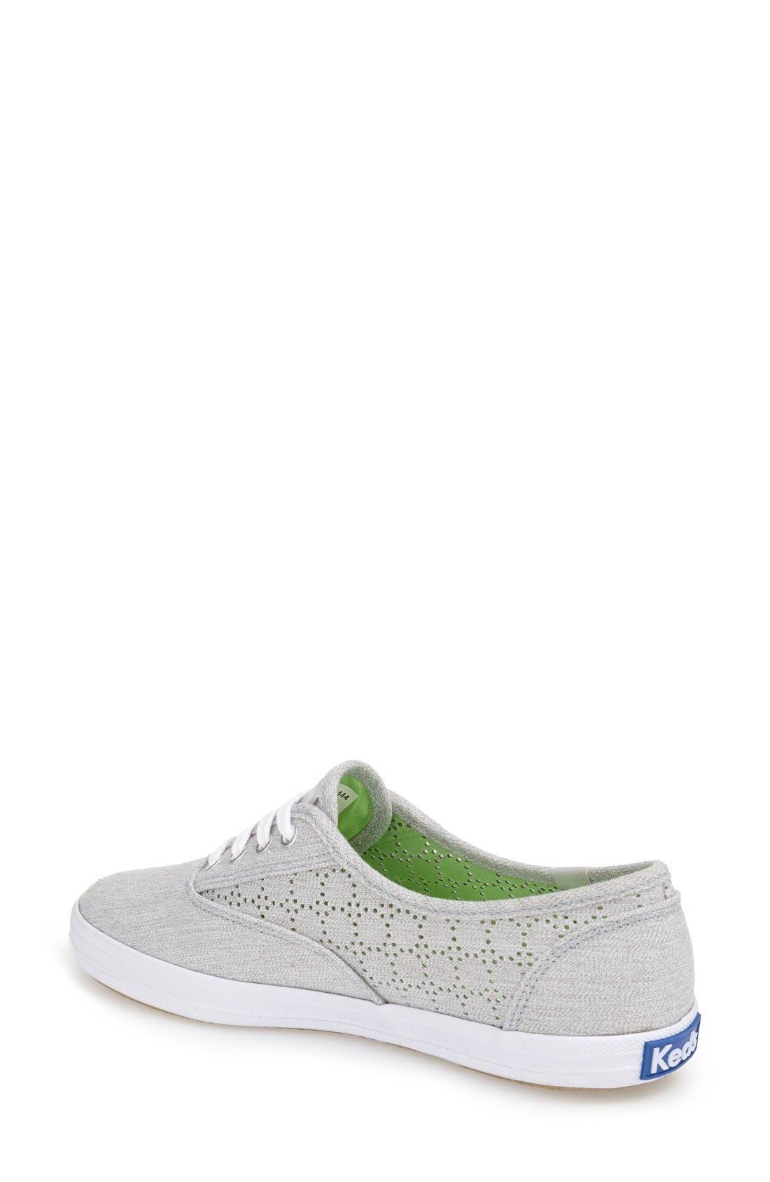 Alternate Image 2  - Keds® 'Champion' Perforated Sneaker (Women)