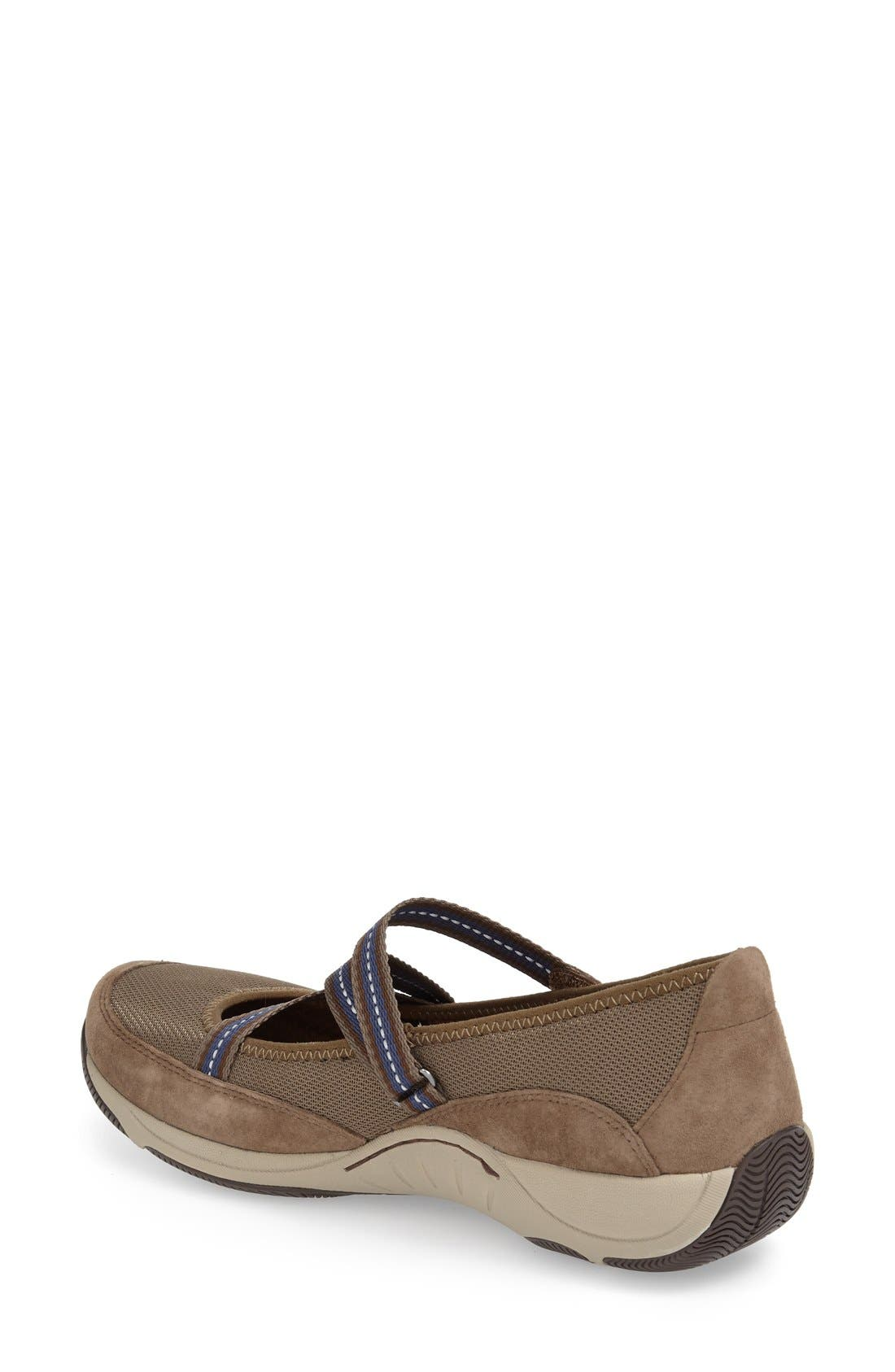 'Hazel' Slip-On Sneaker,                             Alternate thumbnail 3, color,                             Taupe Suede