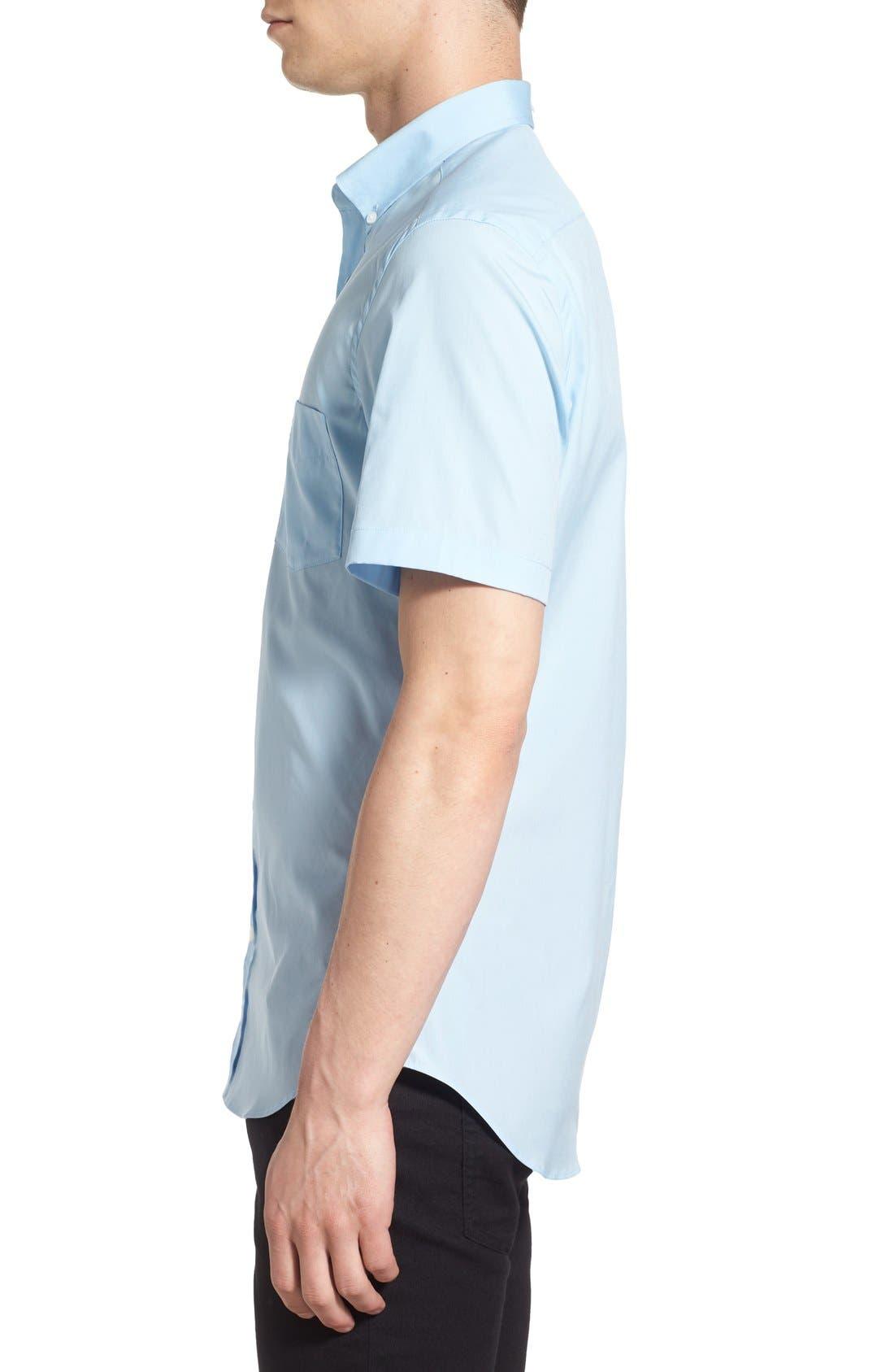Cambridge Aboyd Sport Shirt,                             Alternate thumbnail 4, color,                             Pale Blue
