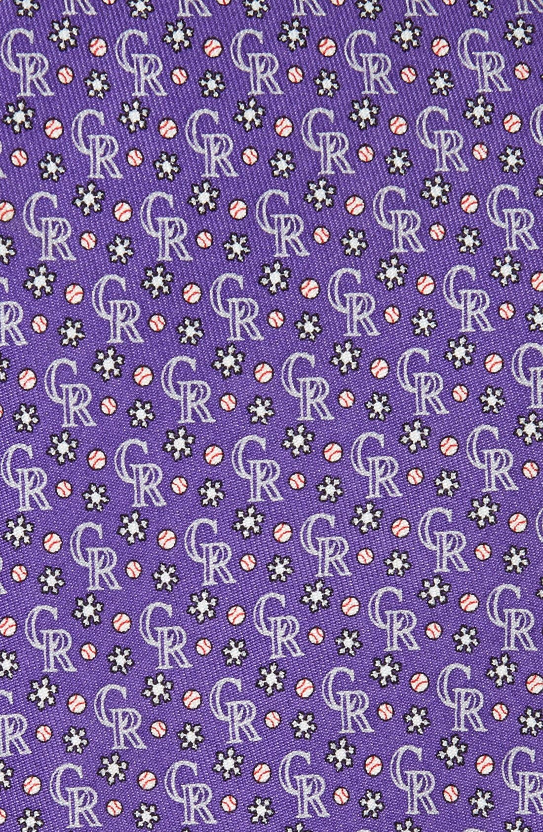 Alternate Image 2  - Vineyard Vines 'Colorado Rockies' Woven Silk Tie