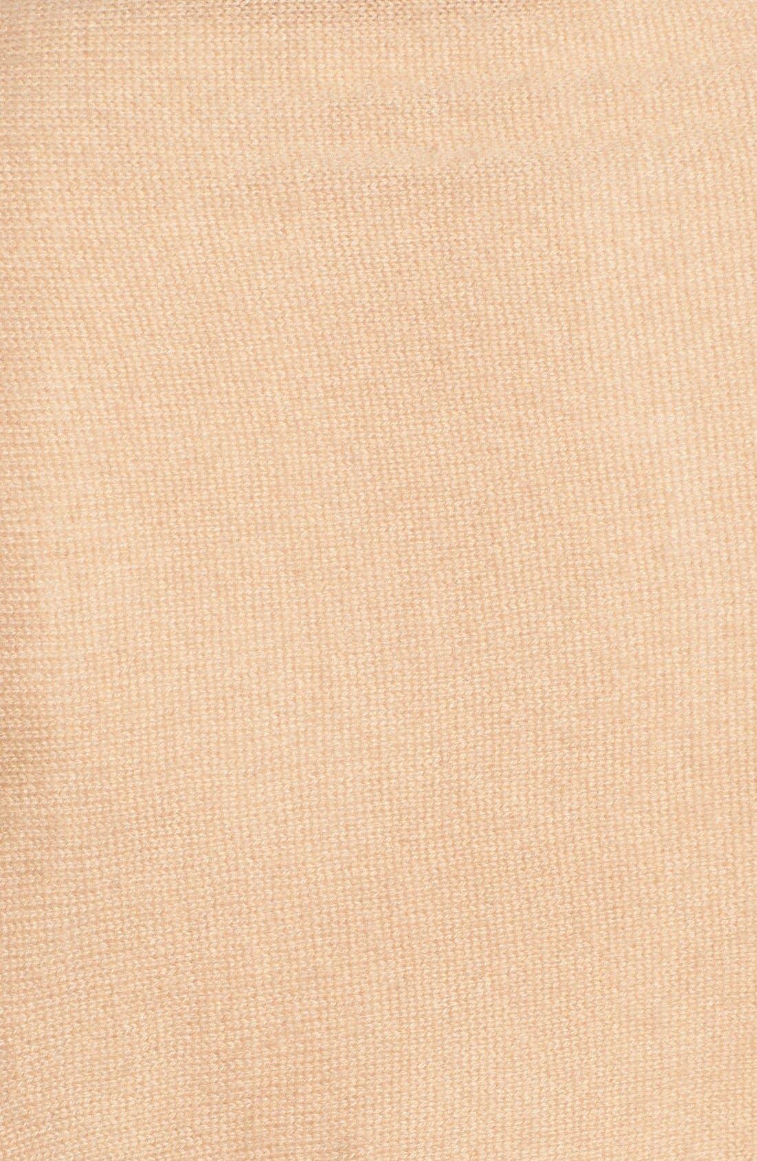 Alternate Image 6  - Nordstrom Collection Fringe Cashmere Wrap