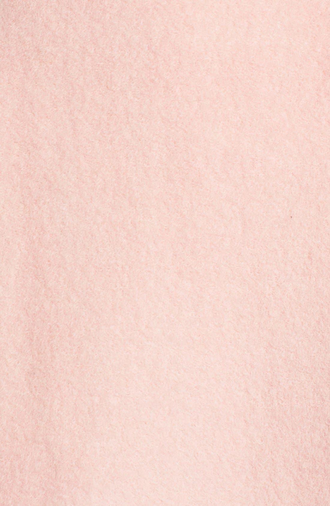 Alternate Image 6  - GUESS Envelope Collar Double Breasted Coat (Regular & Petite)