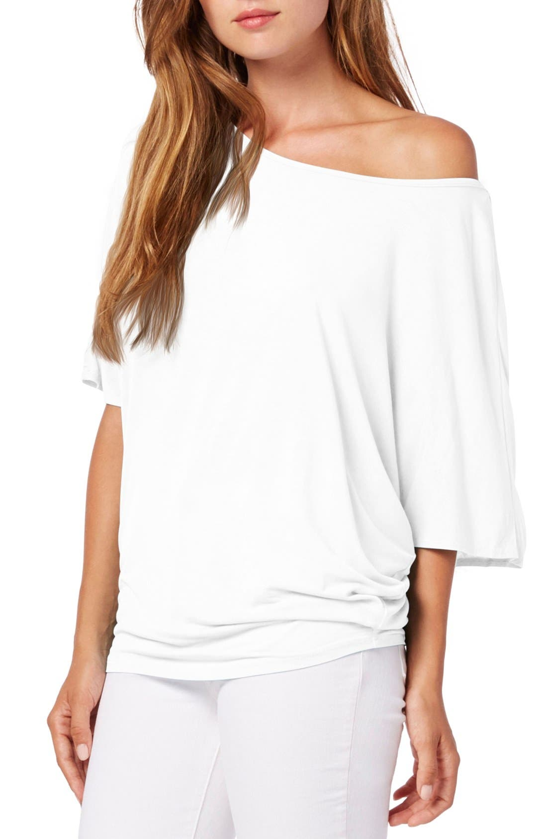 Main Image - Michael Stars Boatneck Dolman Sleeve Jersey Top