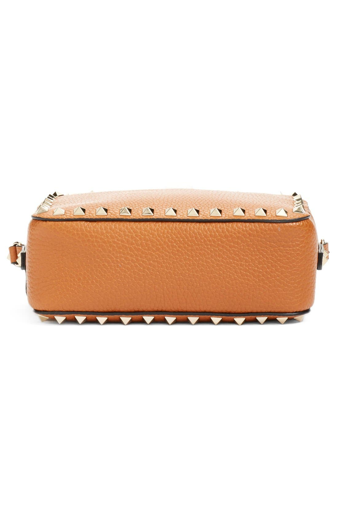 Alternate Image 6  - Valentino 'Rockstud - Alce' Calfskin Leather Camera Crossbody Bag
