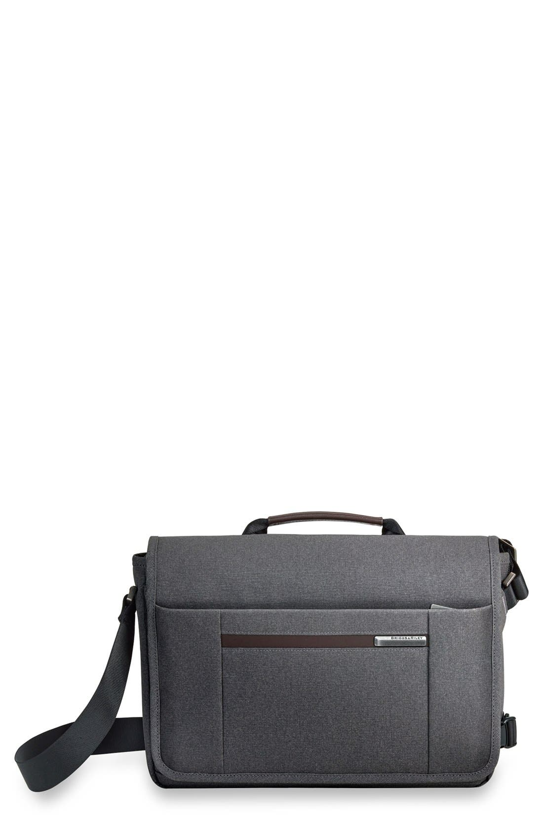 'Kinzie Street - Micro' Messenger Bag,                             Main thumbnail 1, color,                             Grey