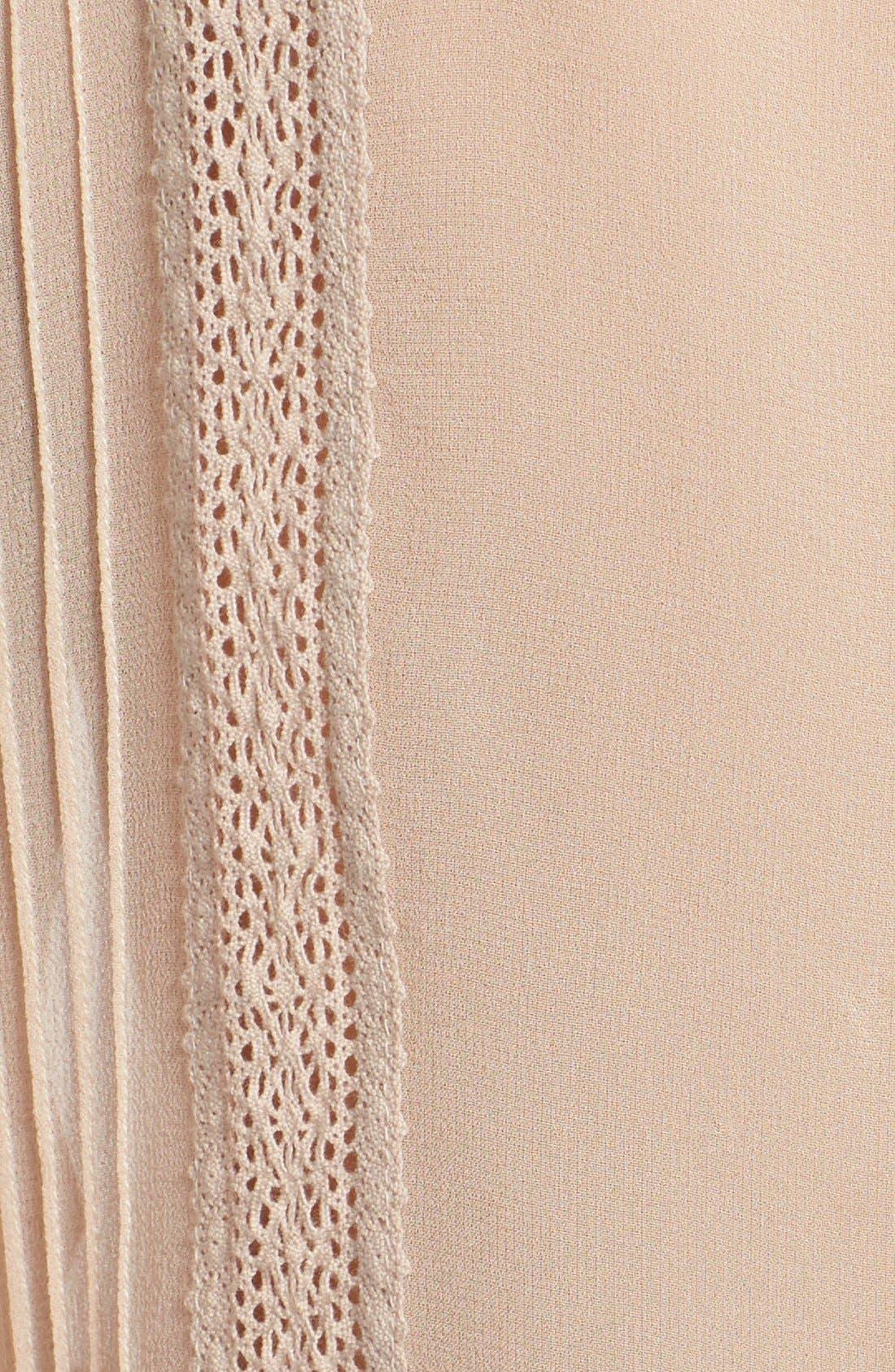Alternate Image 5  - Joie Lace Trim Sleeveless Silk Blouse