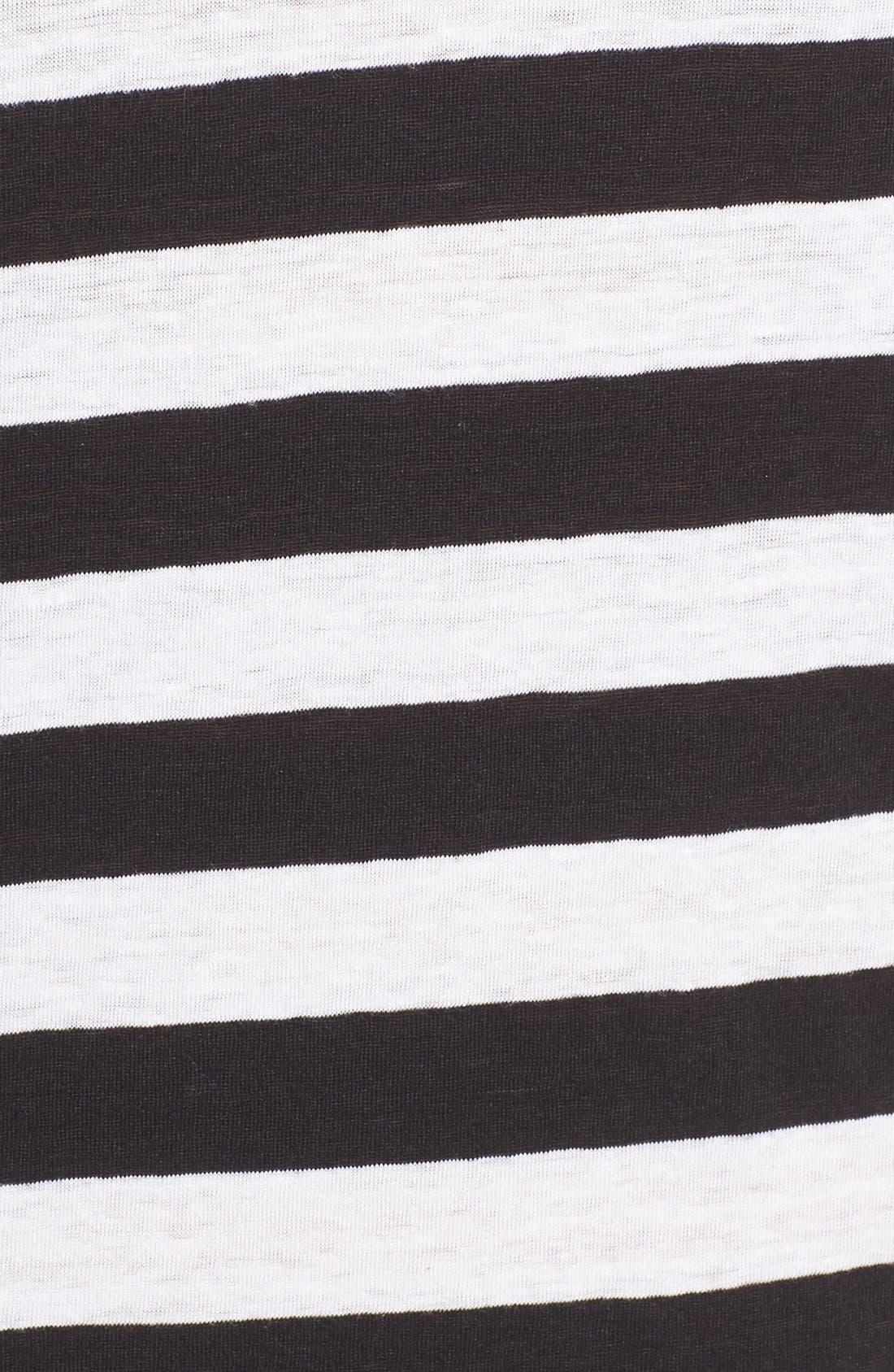 Alternate Image 5  - Joe's 'Weekend' Stripe Linen Midi Dress