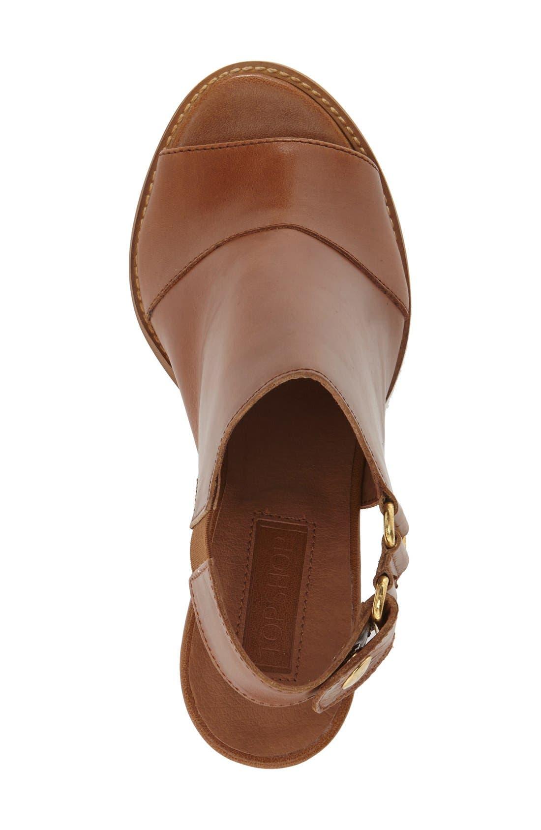 Alternate Image 3  - Topshop 'Nimi' Slingback Round Heel Sandal (Women)