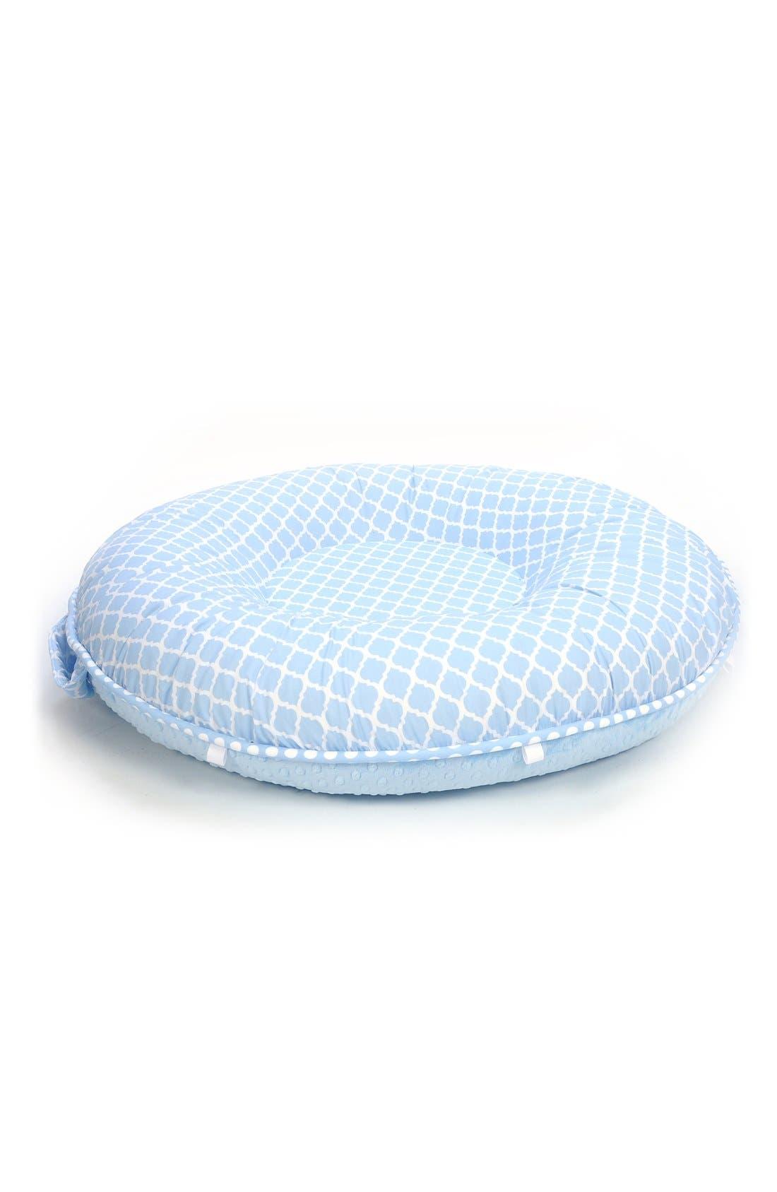 'Jack' Portable Floor Pillow,                         Main,                         color, Blue