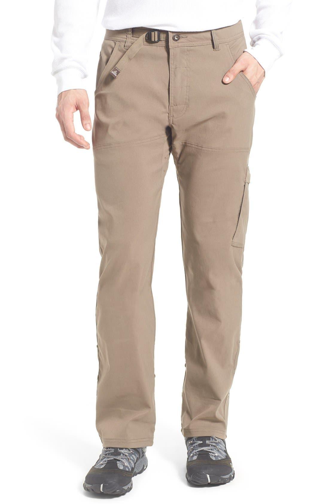 Zion Stretch Pants,                             Main thumbnail 1, color,                             Mud