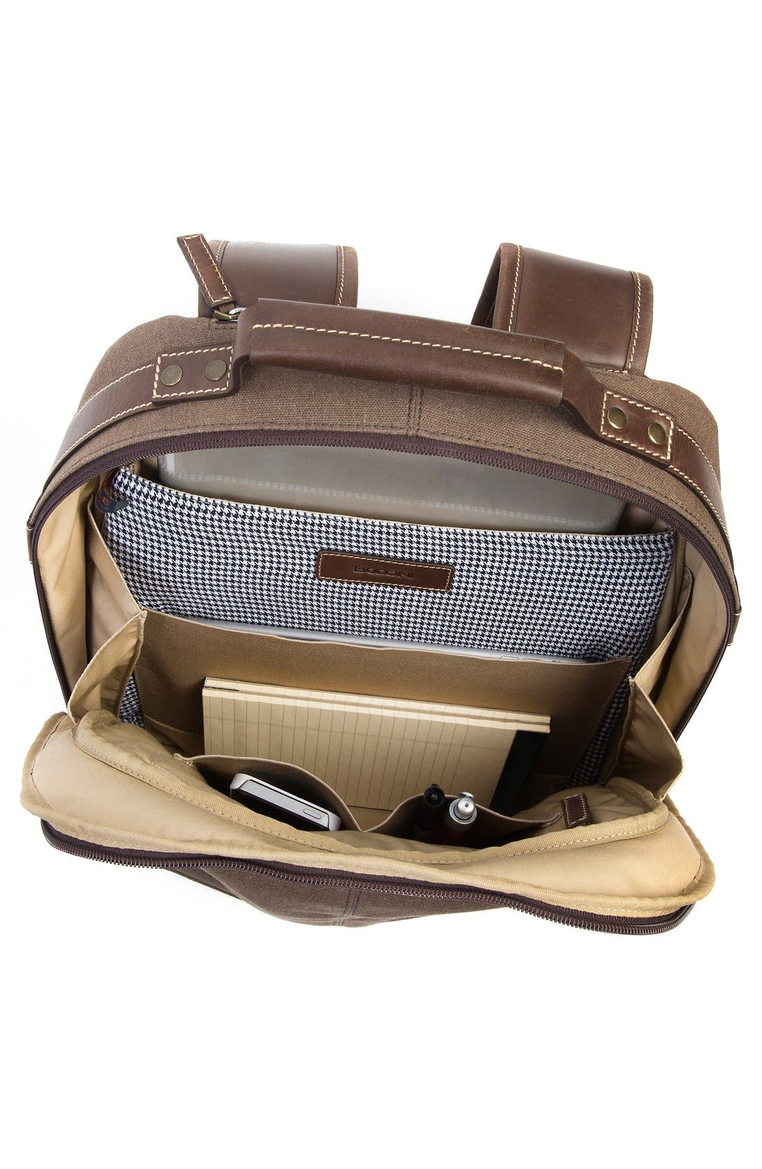 'Bryant LTE' Backpack,                             Alternate thumbnail 3, color,                             Heather Brown