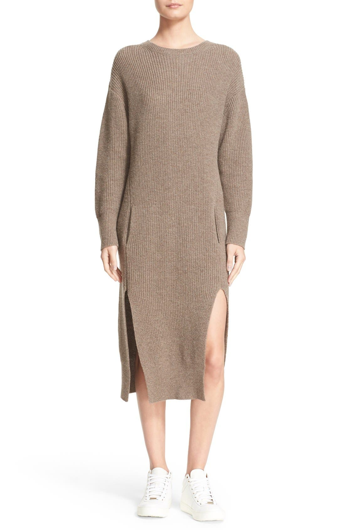 Alternate Image 1 Selected - Sea Wool & Cashmere Midi Sweater Dress