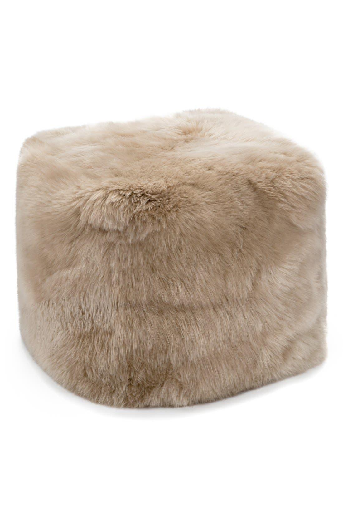 Main Image - UGG® Genuine Shearling Pouf