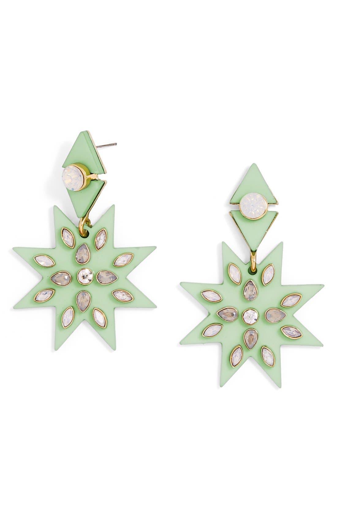 Alternate Image 1 Selected - BaubleBar 'Nightlight' Crystal Drop Earrings