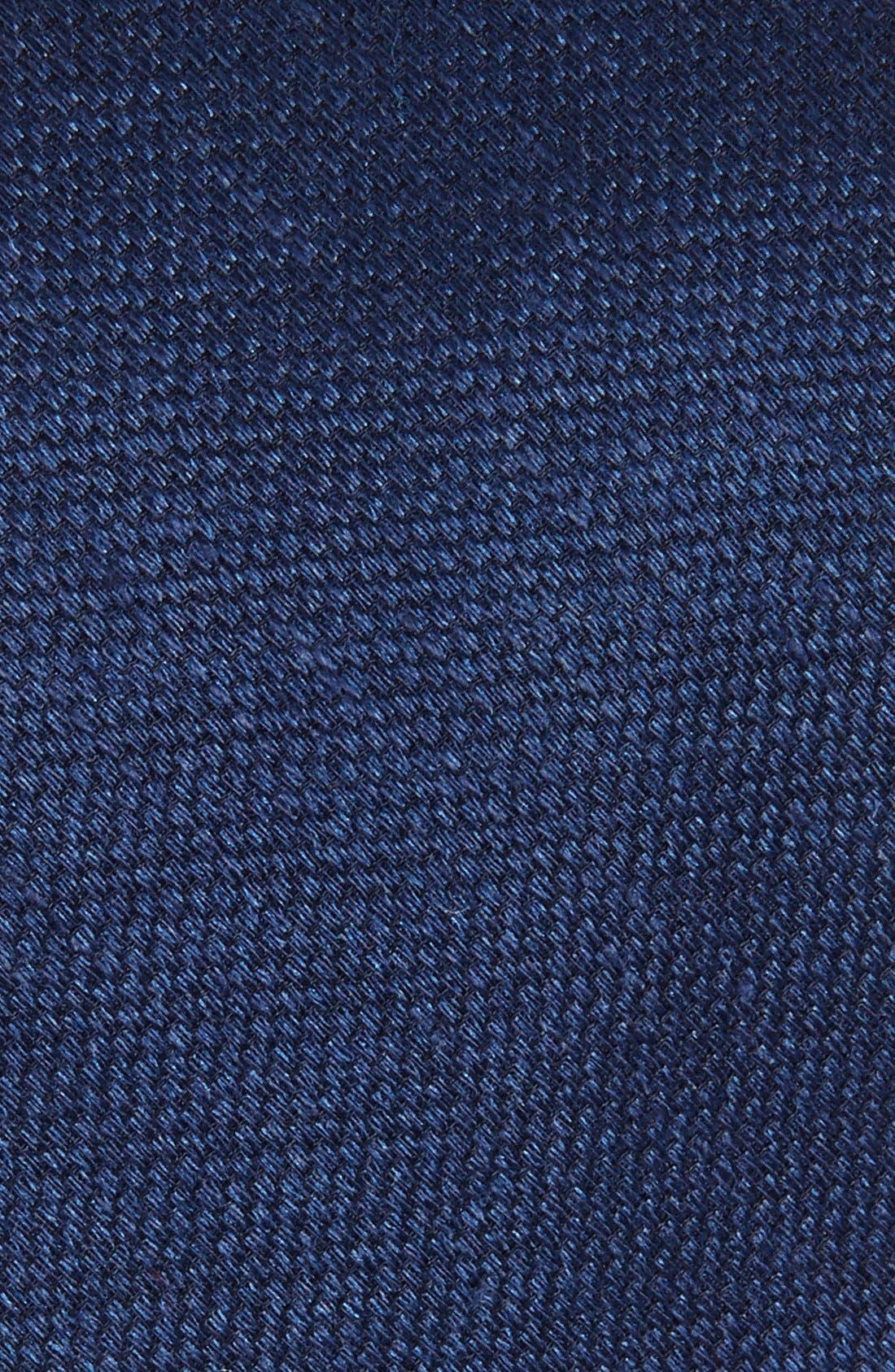 Alternate Image 2  - The Tie Bar Solid Silk & Linen Tie