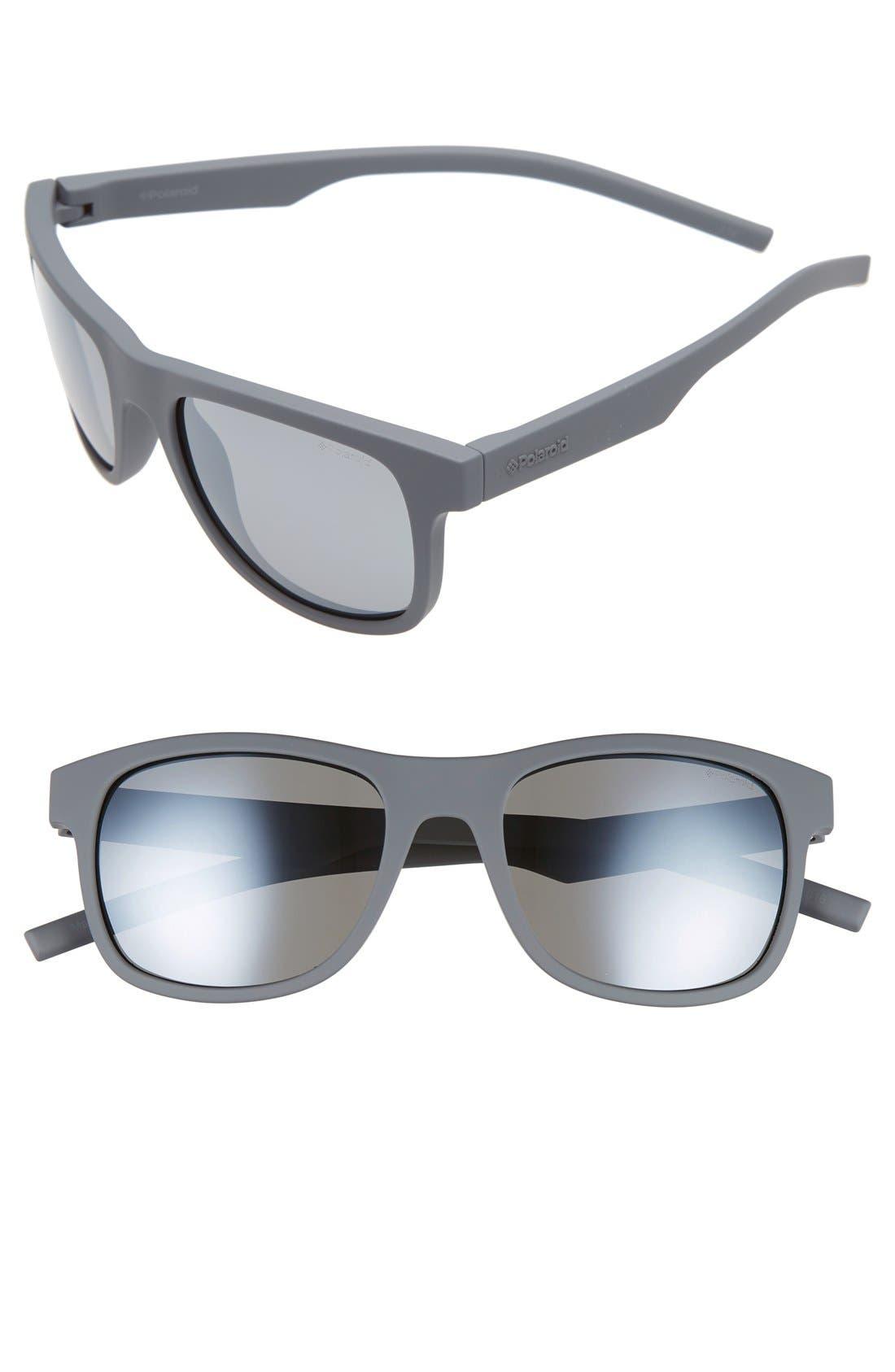Polaroid Eyewear 51mm Polarized Retro Sunglasses